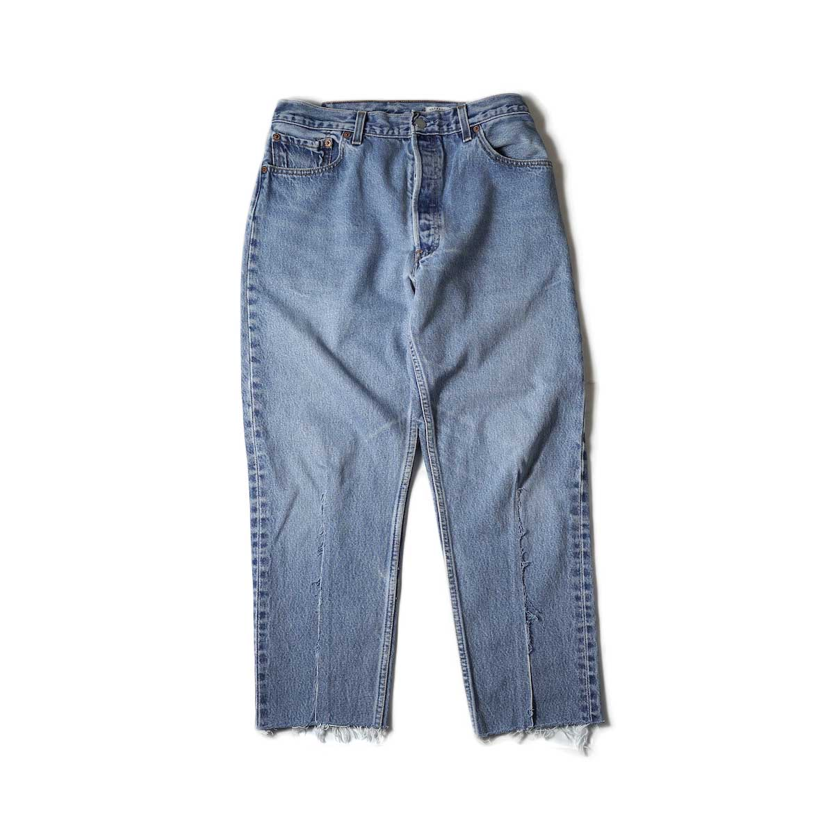 OLD PARK / Balloon Jeans (Blue) Msize-B