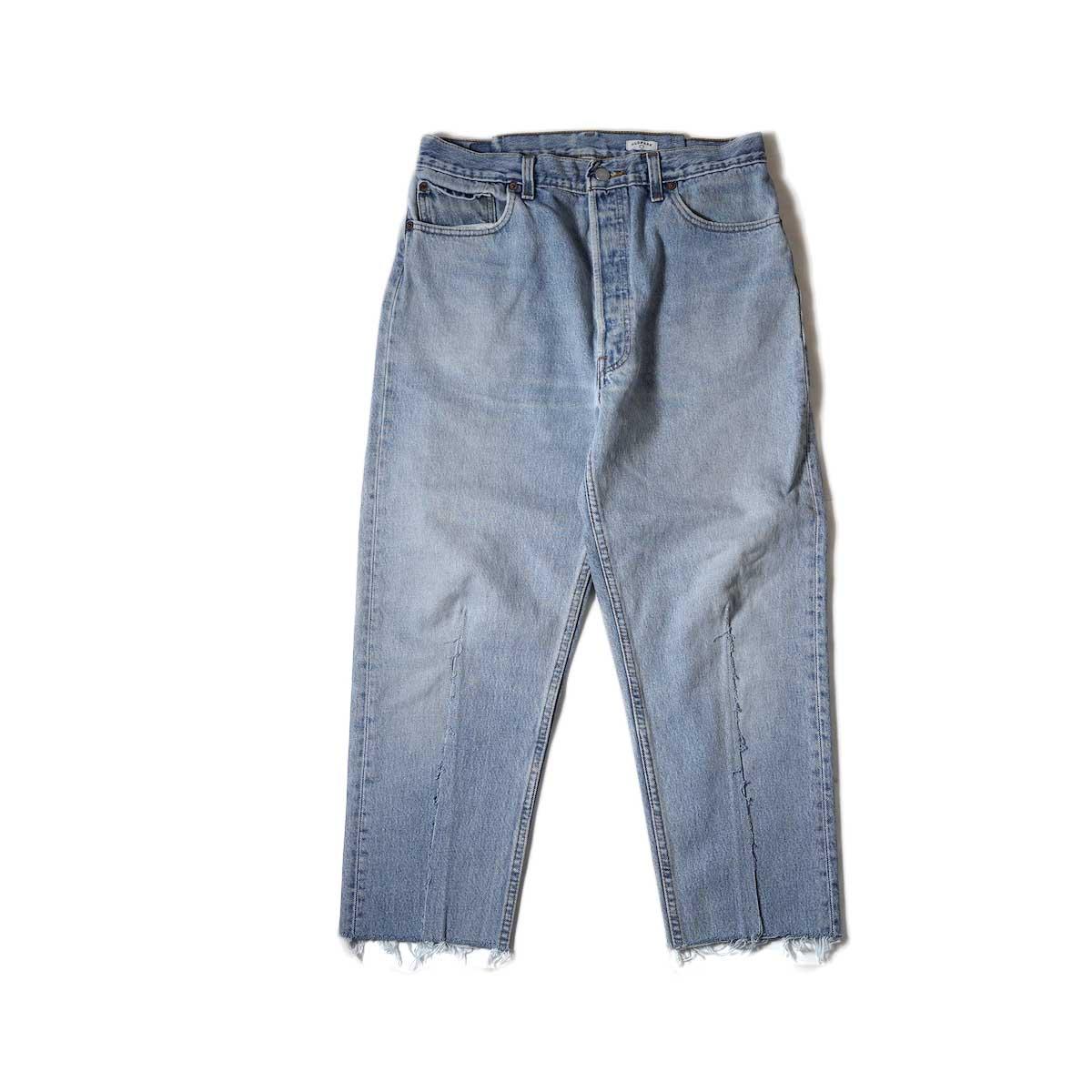 OLD PARK / Balloon Jeans (Blue) Msize-C