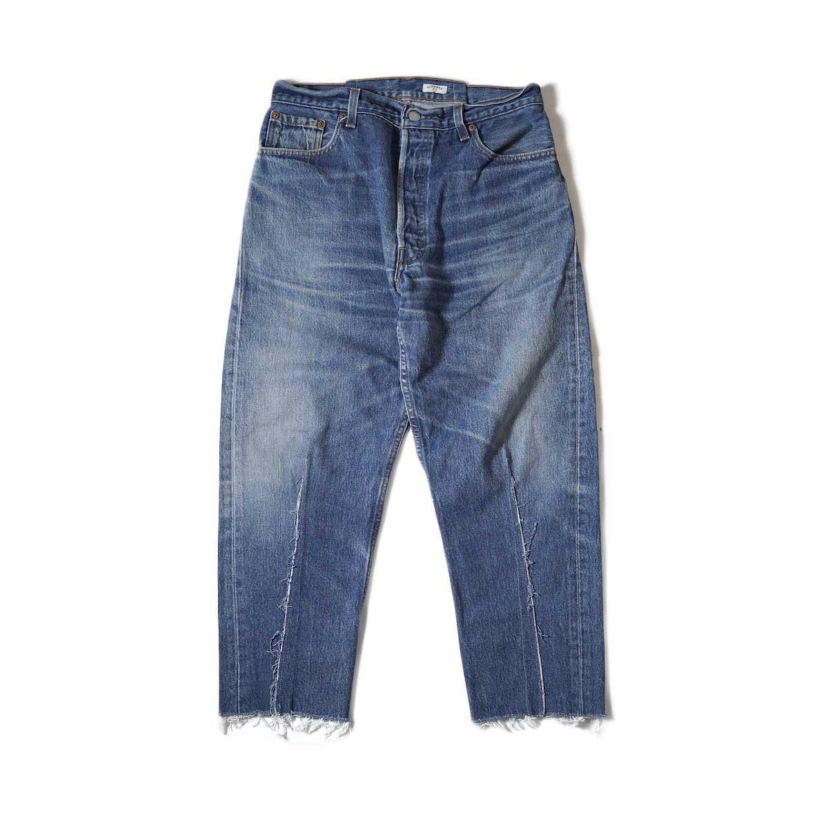 OLD PARK / Balloon Jeans (Blue) Msize-D