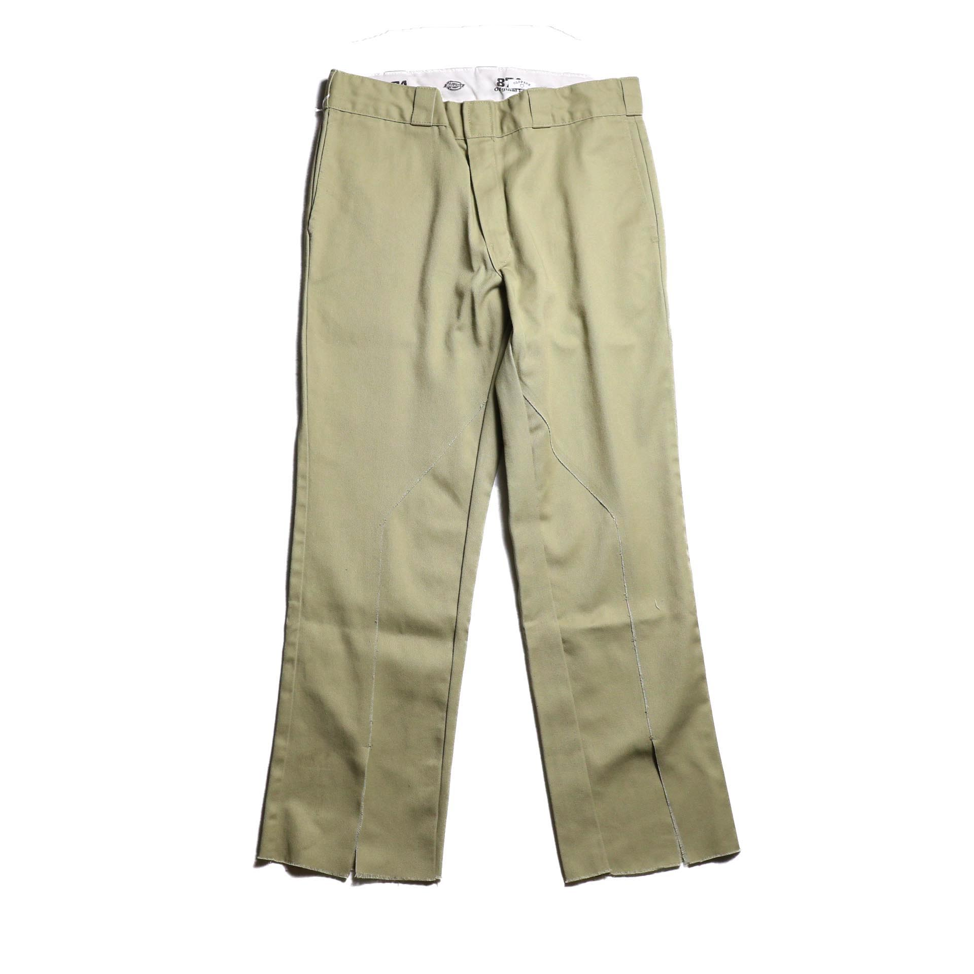 "OLD PARK / Slit Pants ""Dickies"" -Beige (Lsize)"