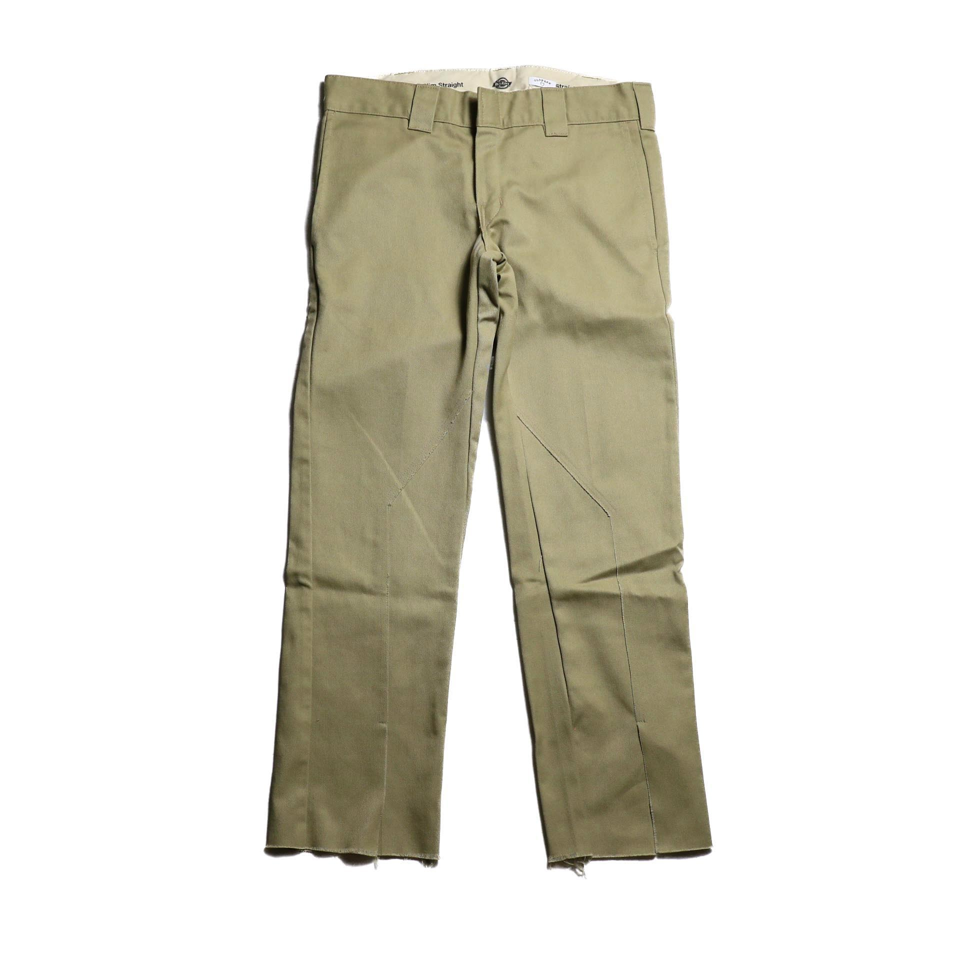 "OLD PARK / Slit Pants ""Dickies"" -Beige (Ssize)"