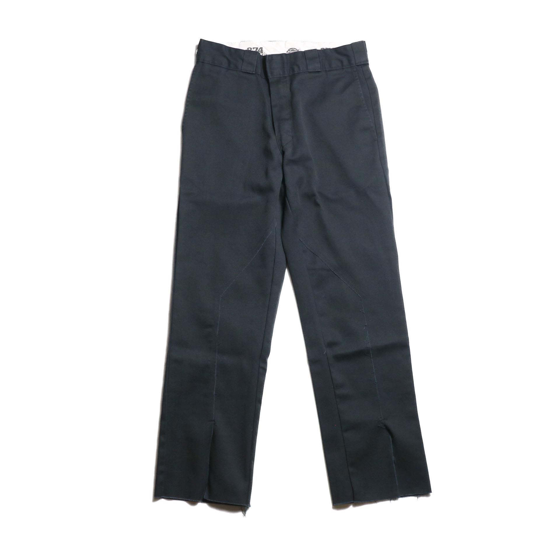 "OLD PARK / Slit Pants ""Dickies"" -Black (Ssize)"