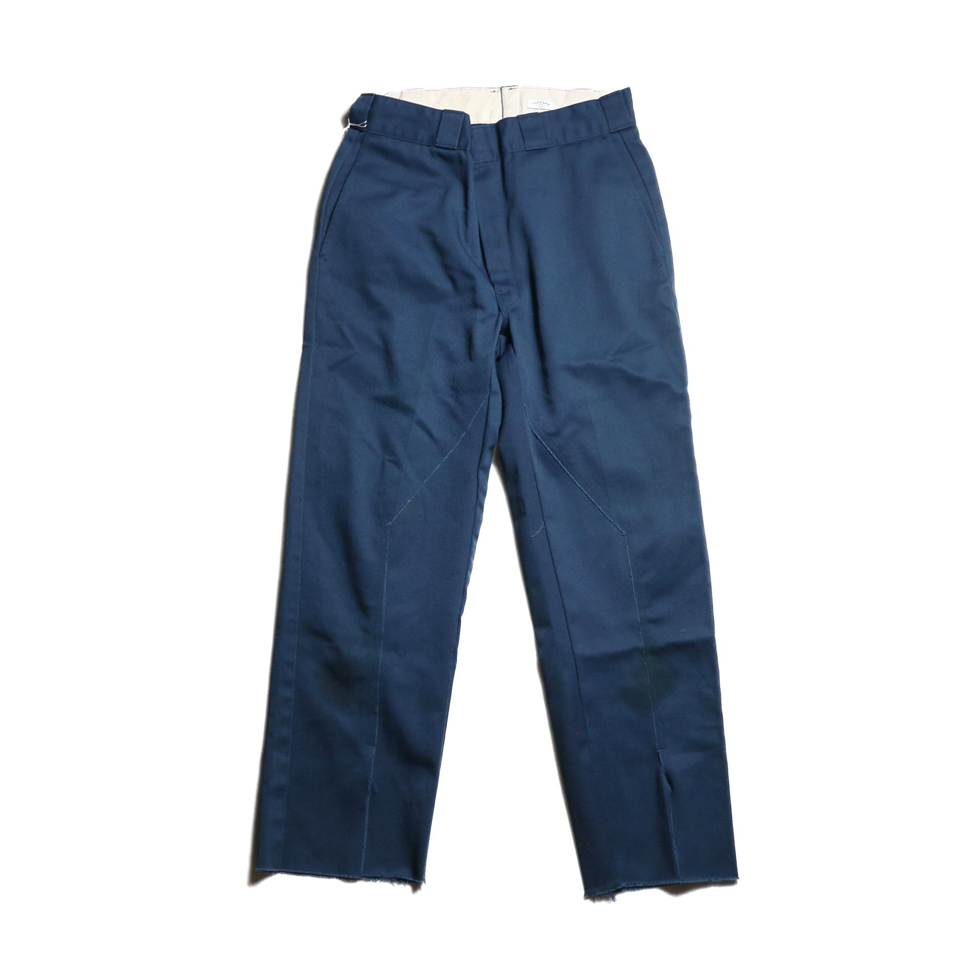 "OLD PARK / Slit Pants ""Dickies"" -Navy (Msize)"