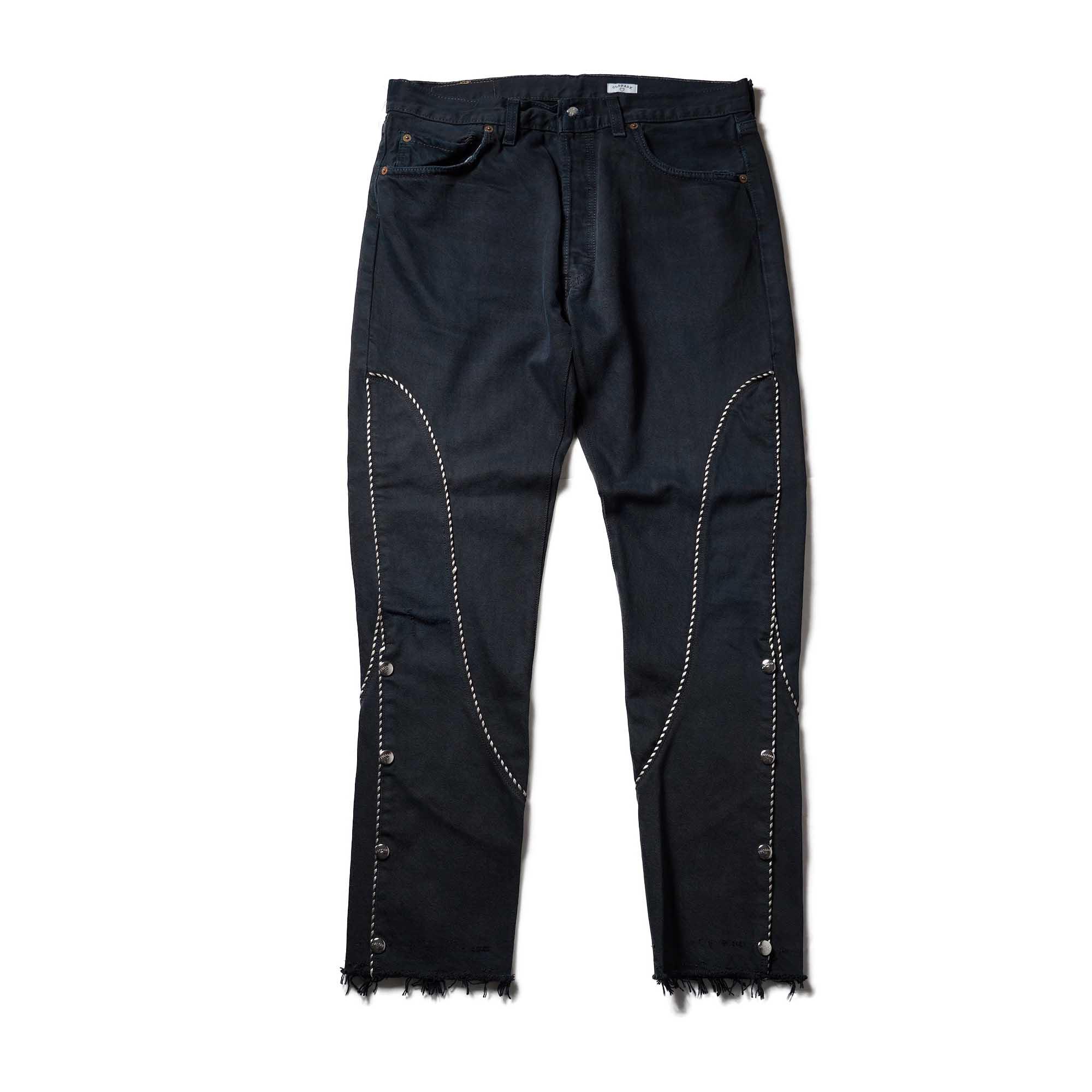 OLD PARK / Western Jeans2 Black (Lsize-A)正面