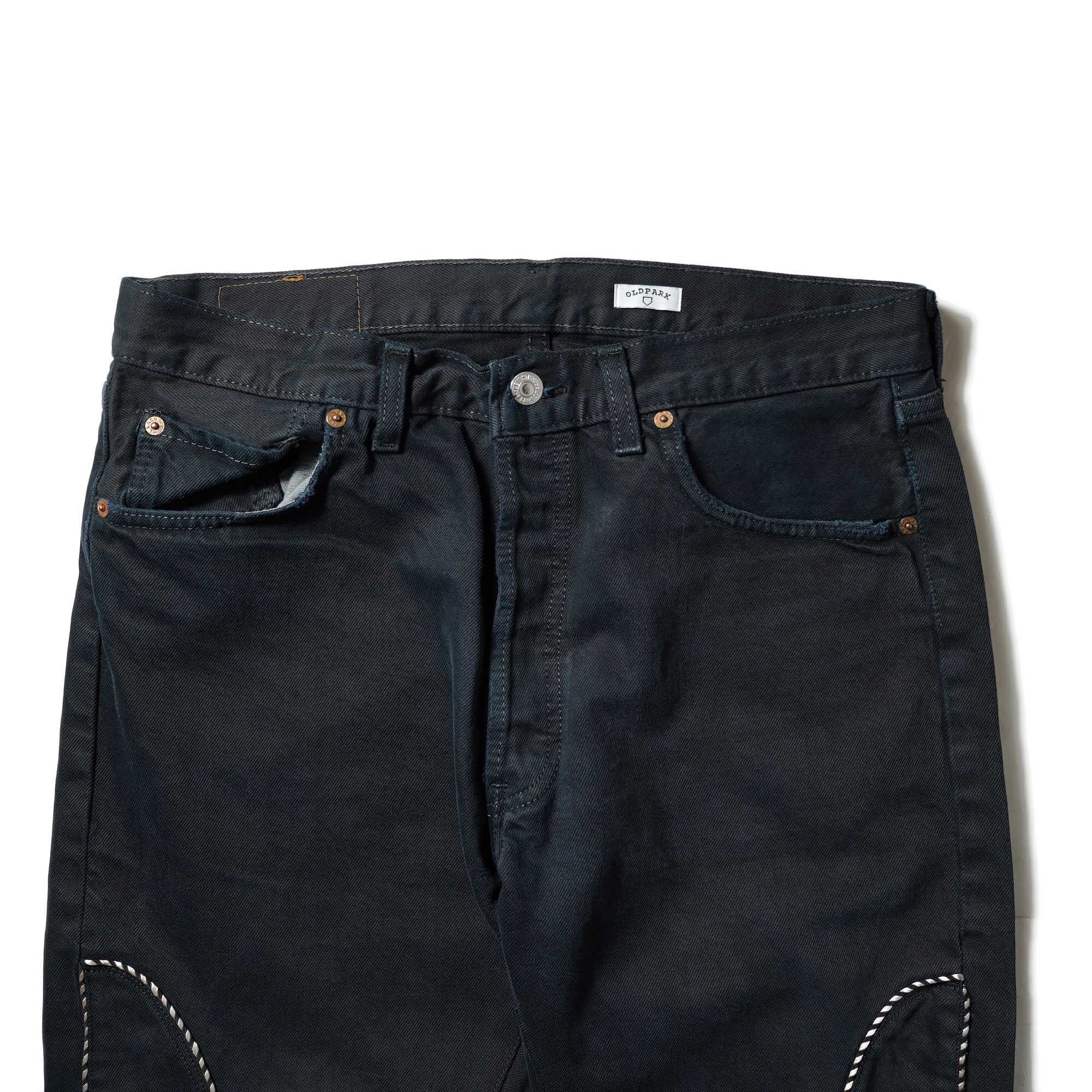 OLD PARK / Western Jeans2 Black (Lsize-A)OLD PARK / Western Jeans2 Black (Lsize-B)ウエスト