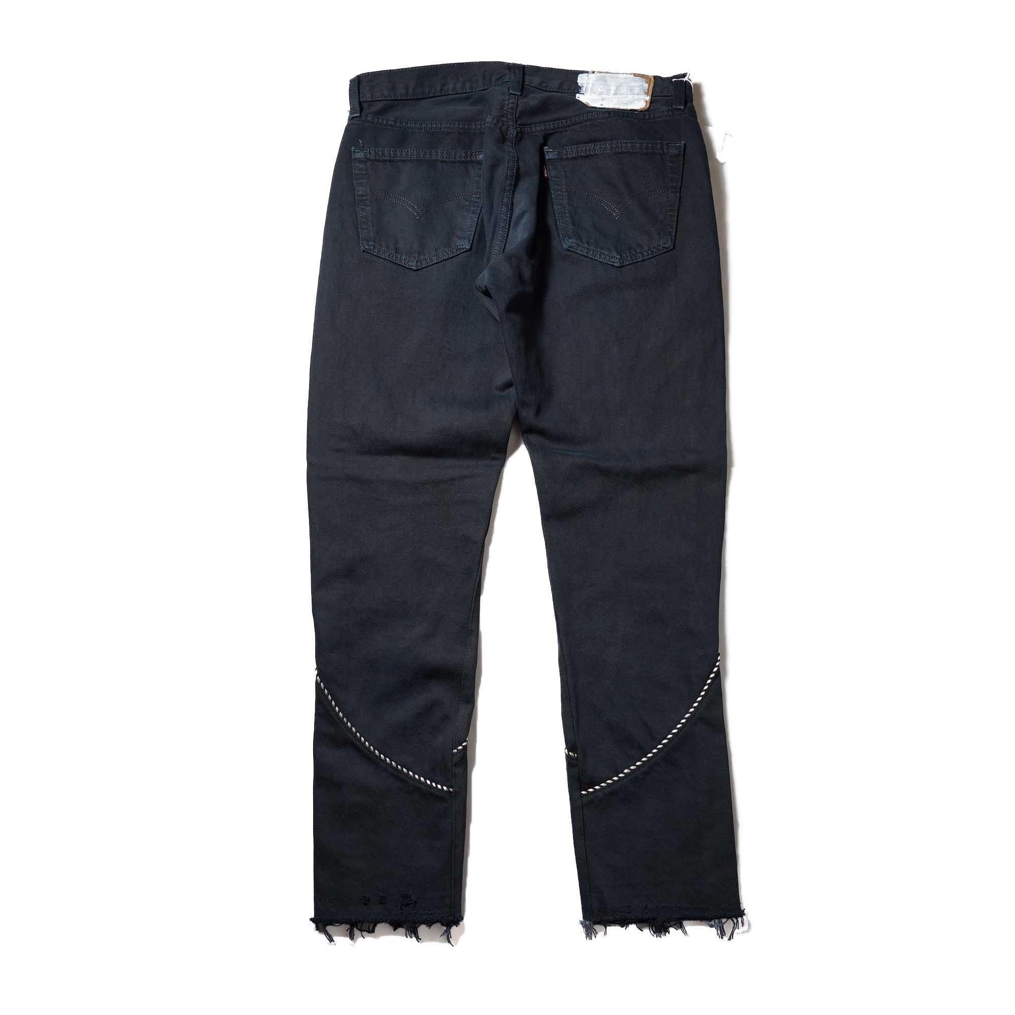 OLD PARK / Western Jeans2 Black (Lsize-A)背面