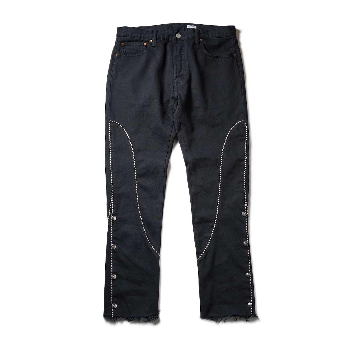 OLD PARK / Western Jeans2 Black (Lsize-B)正面