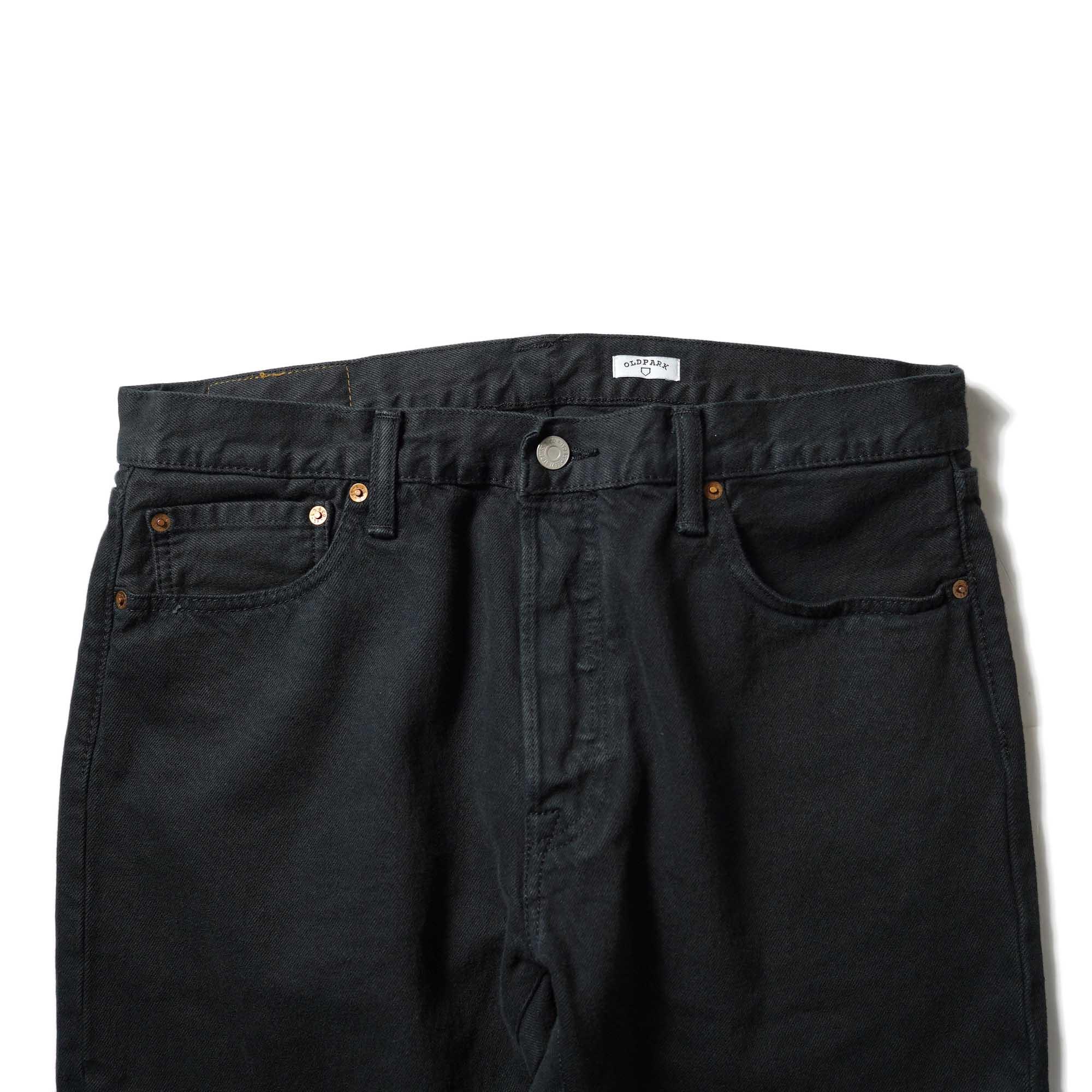 OLD PARK / Western Jeans2 Black (Lsize-B)ウエスト