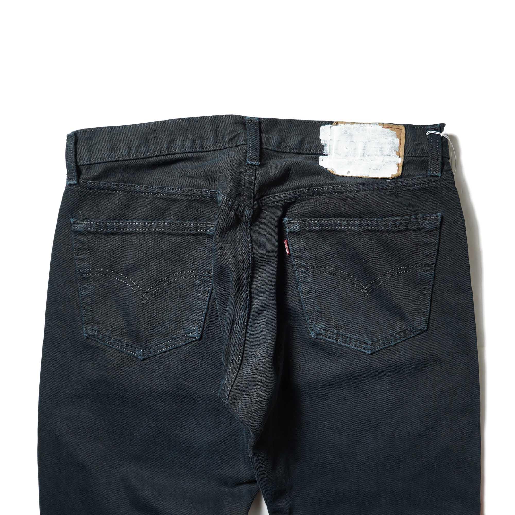 OLD PARK / Western Jeans2 Black (Lsize-B)ヒップポケット