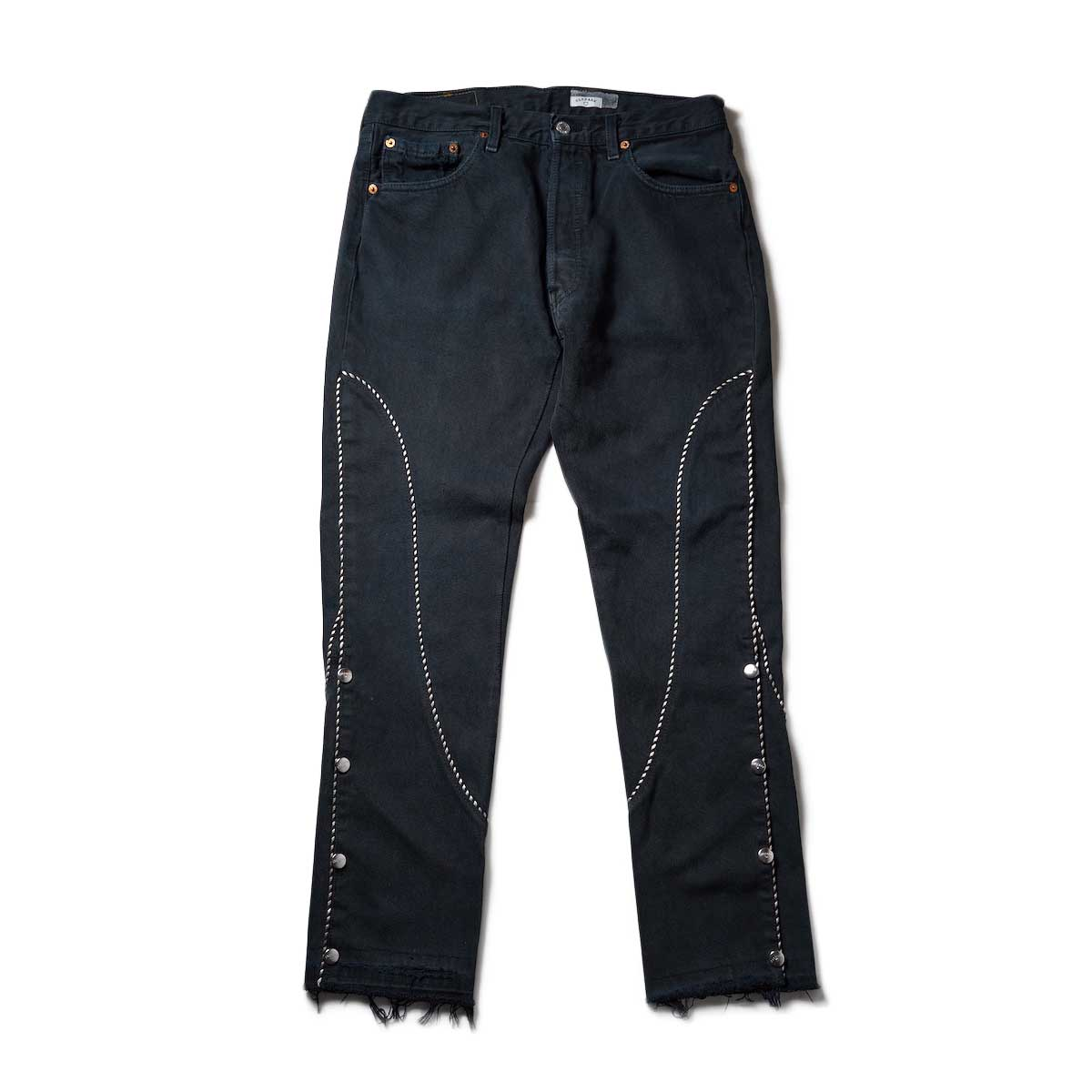 OLD PARK / Western Jeans2 Black (Msize-A)