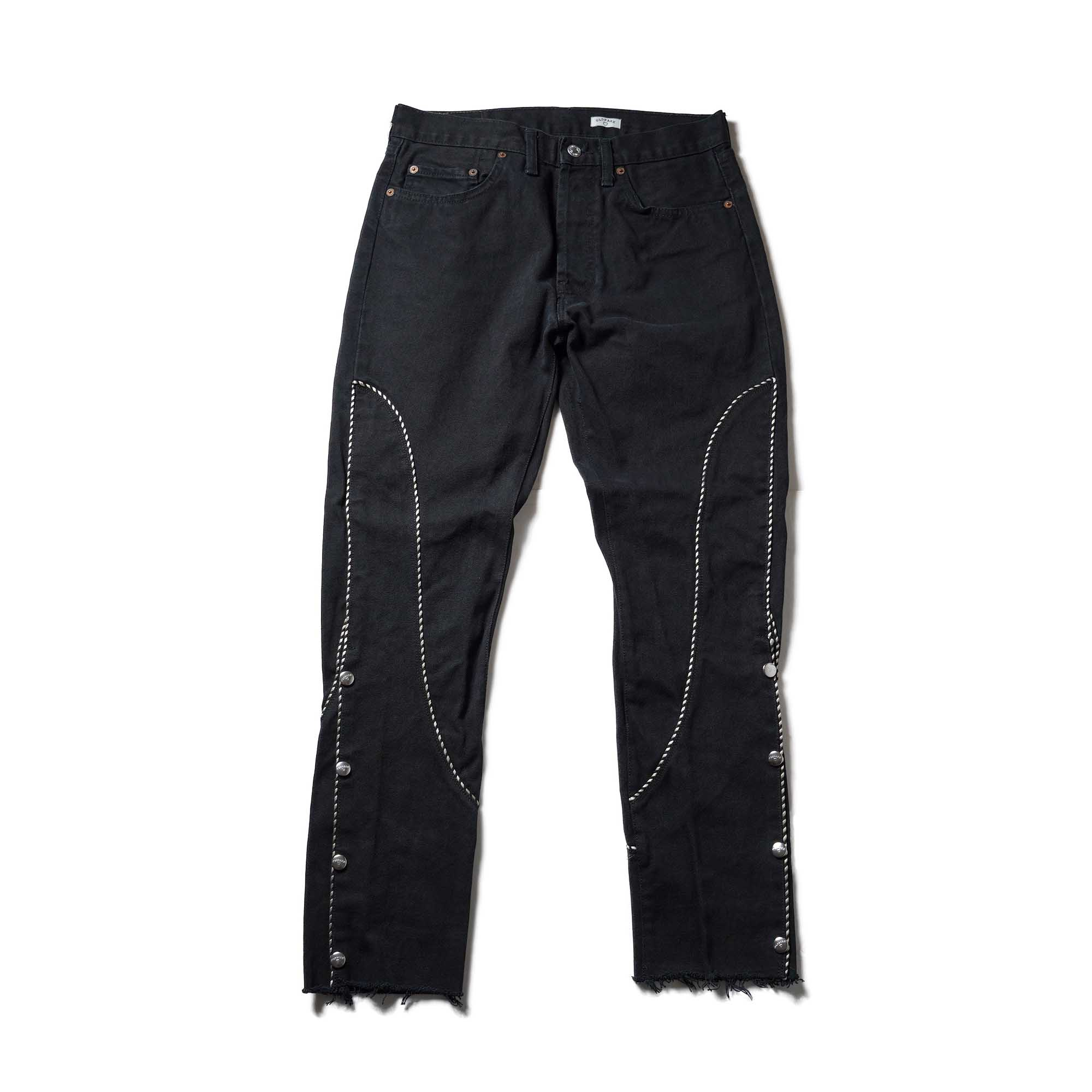 OLD PARK / Western Jeans2 Black (Msize-B)