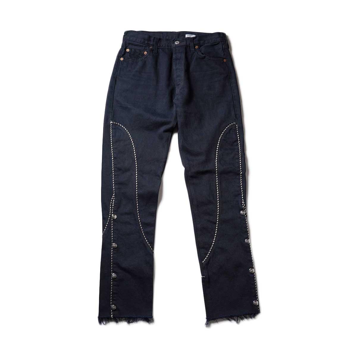 OLD PARK / Western Jeans2 Black (Ssize-A)