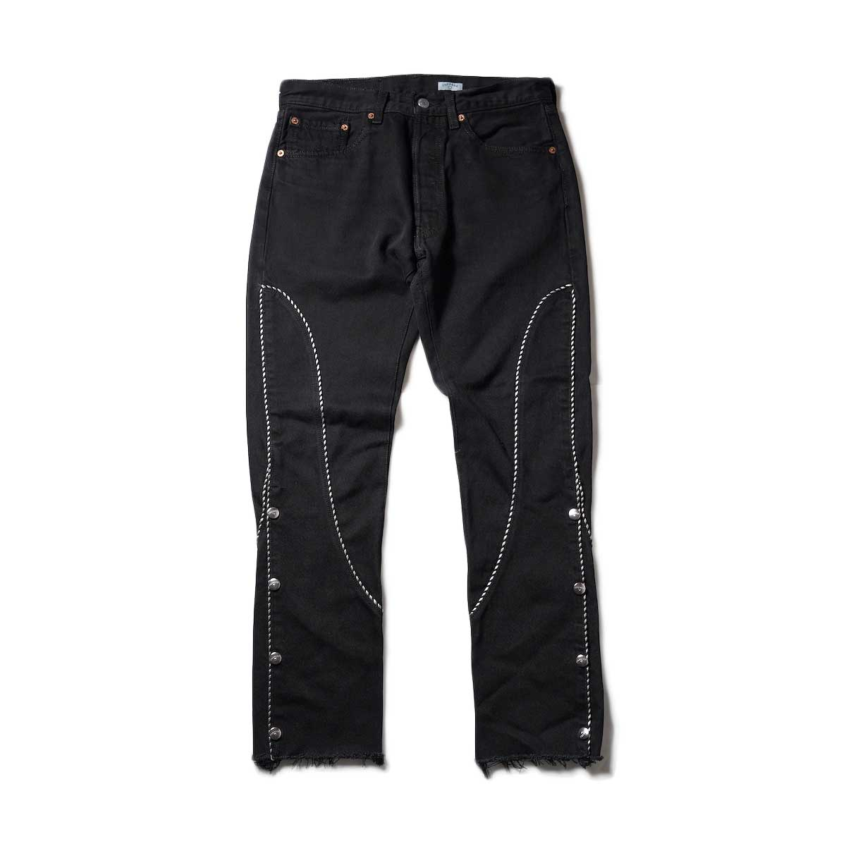 OLD PARK / Western Jeans2 Black (Ssize-B)