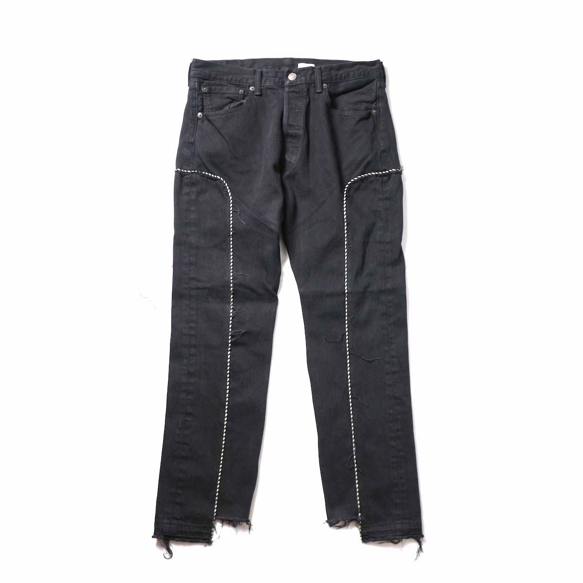 OLD PARK / Western Jeans Black (Lsize-A)