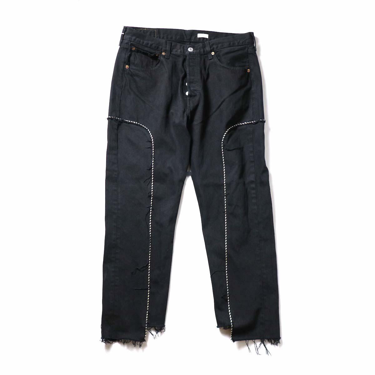 OLD PARK / Western Jeans Black (Lsize-B)