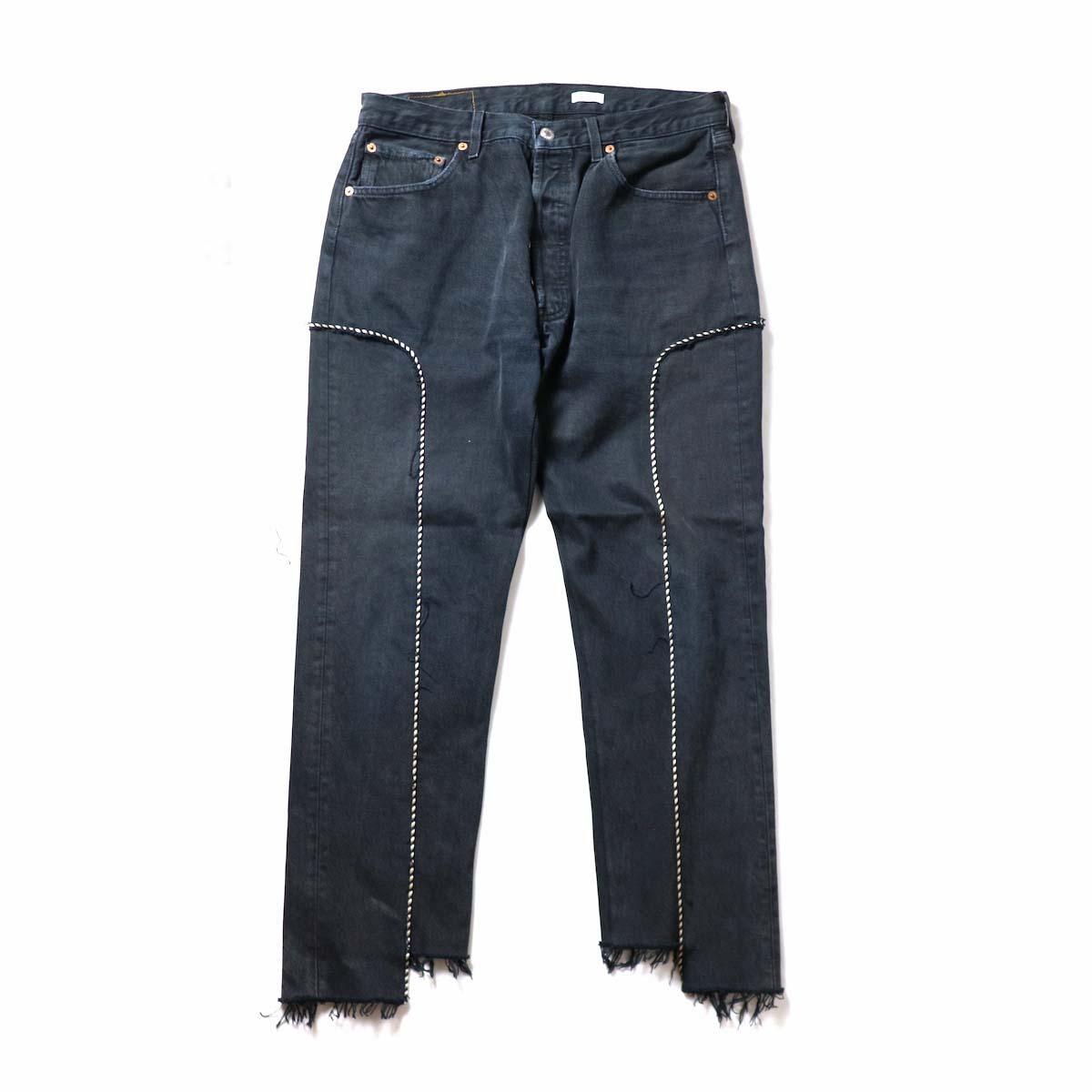OLD PARK / Western Jeans Black (Lsize-C)