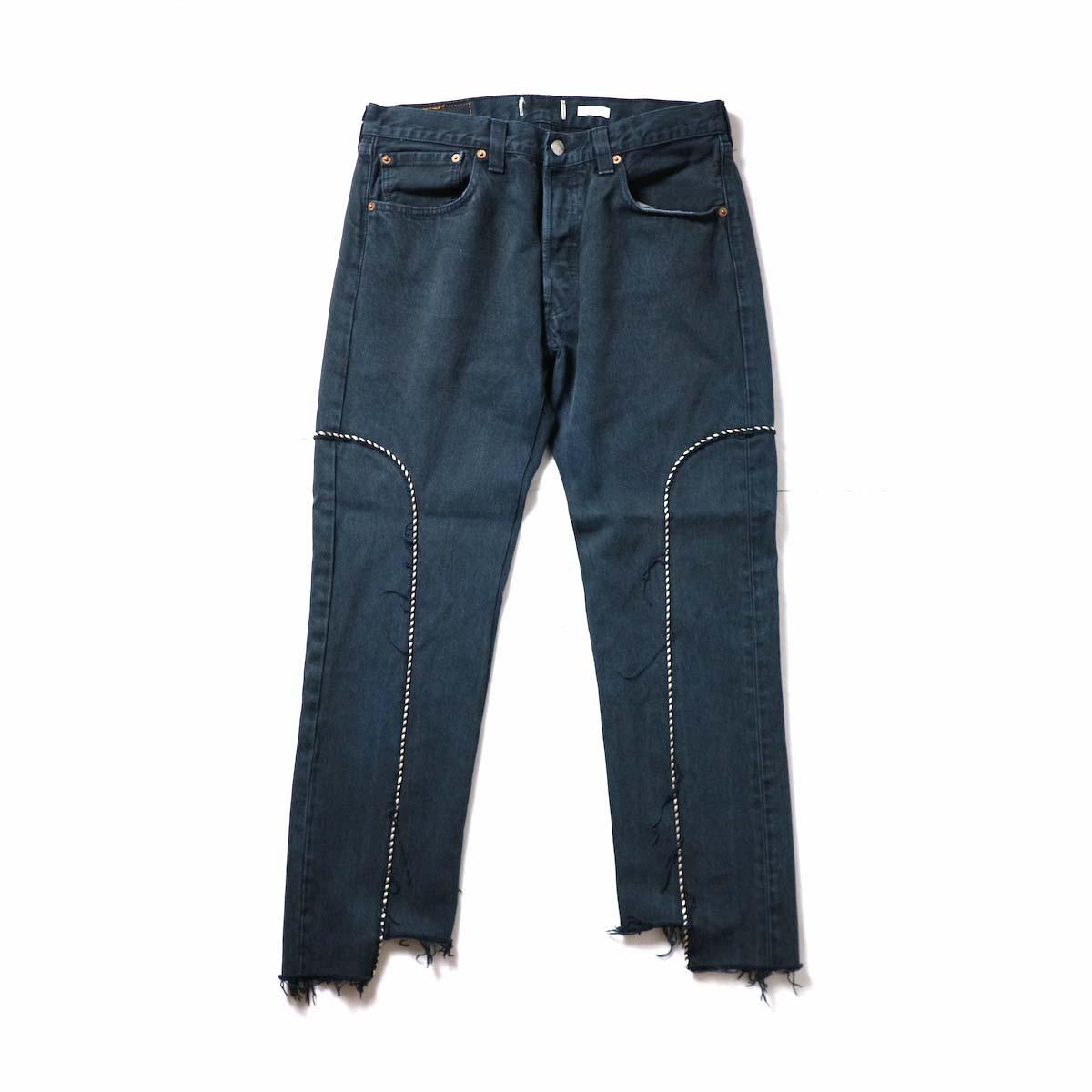 OLD PARK / Western Jeans Black (Msize-D)