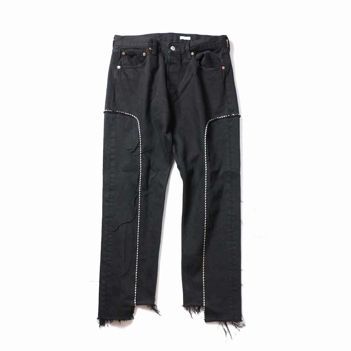 OLD PARK / Western Jeans Black (Msize-E)