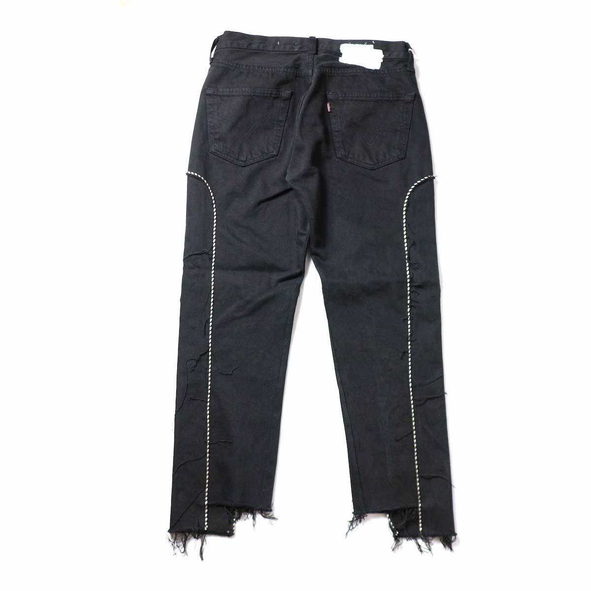 OLD PARK / Western Jeans Black (Msize-E)背面