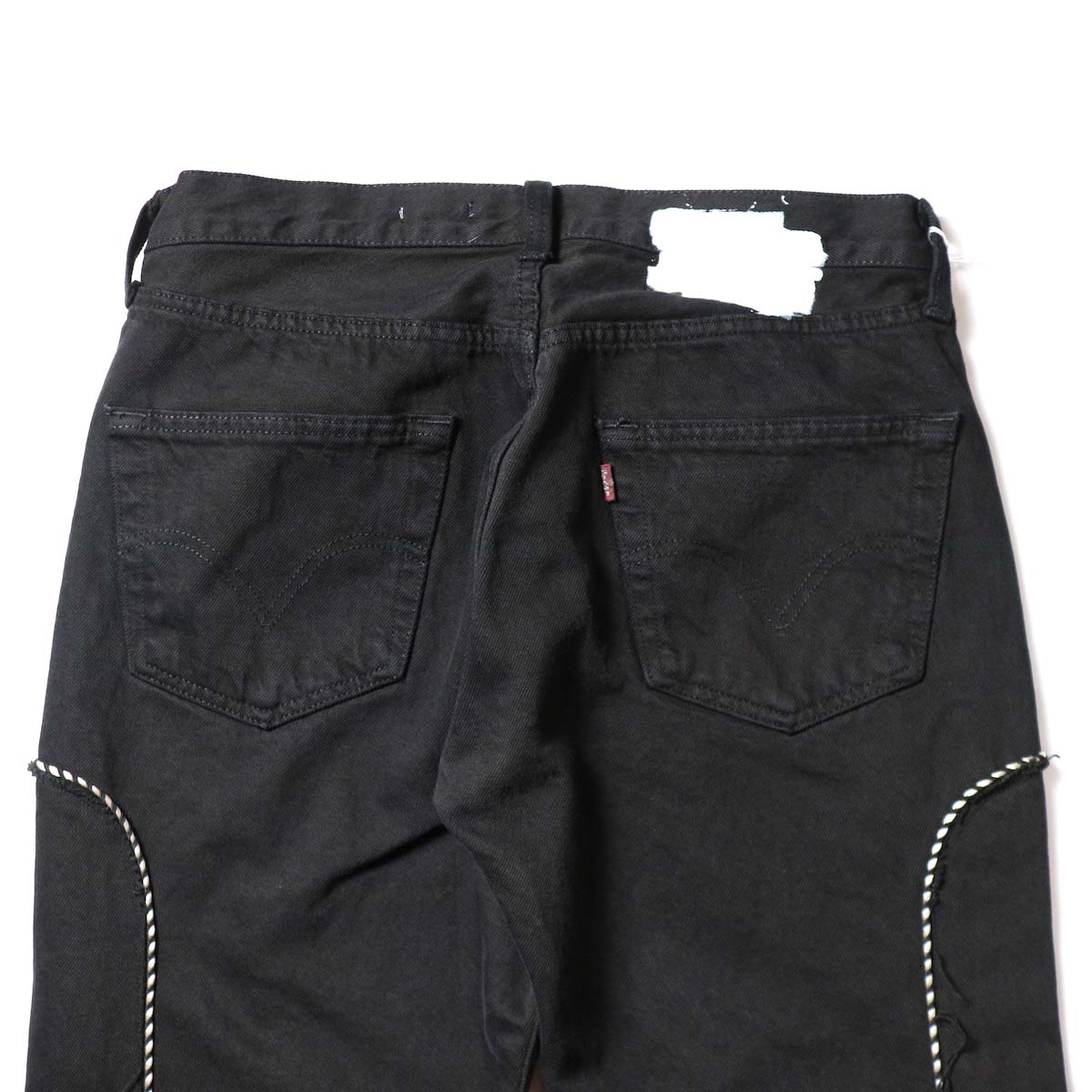 OLD PARK / Western Jeans Black (Msize-E)ヒップポケット
