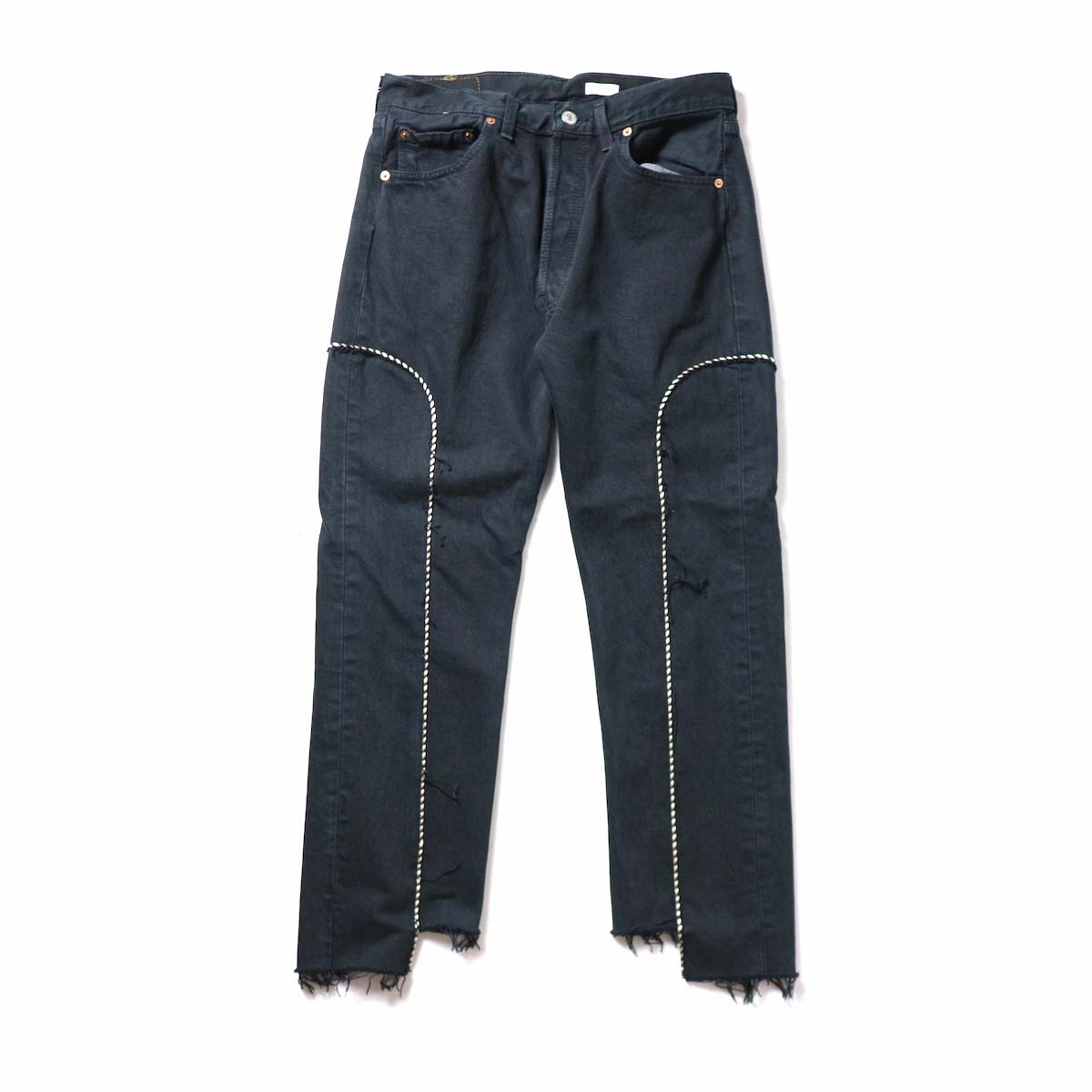 OLD PARK / Western Jeans Black (Msize-F)正面
