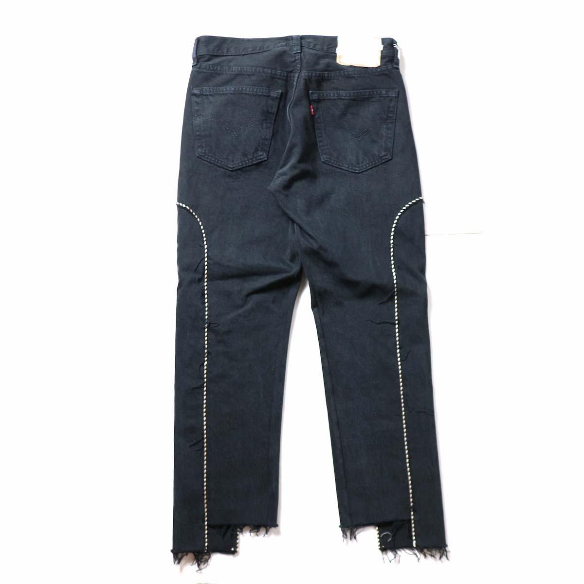 OLD PARK / Western Jeans Black (Msize-F)背面