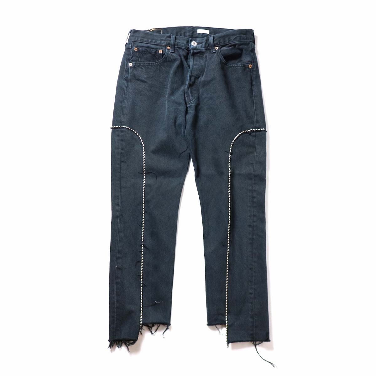 OLD PARK / Western Jeans Black (Msize-G)正面