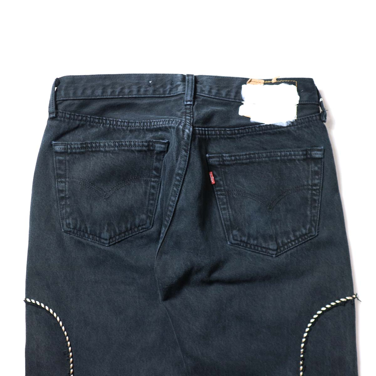 OLD PARK / Western Jeans Black (Msize-G)ヒップポケット
