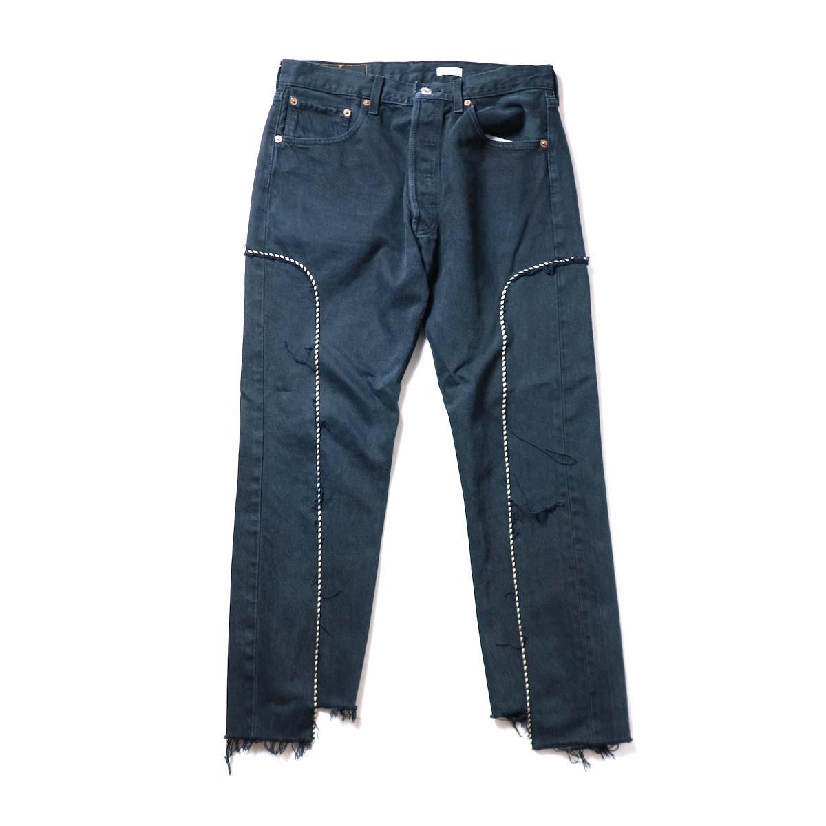 OLD PARK / Western Jeans Black (Msize-H)