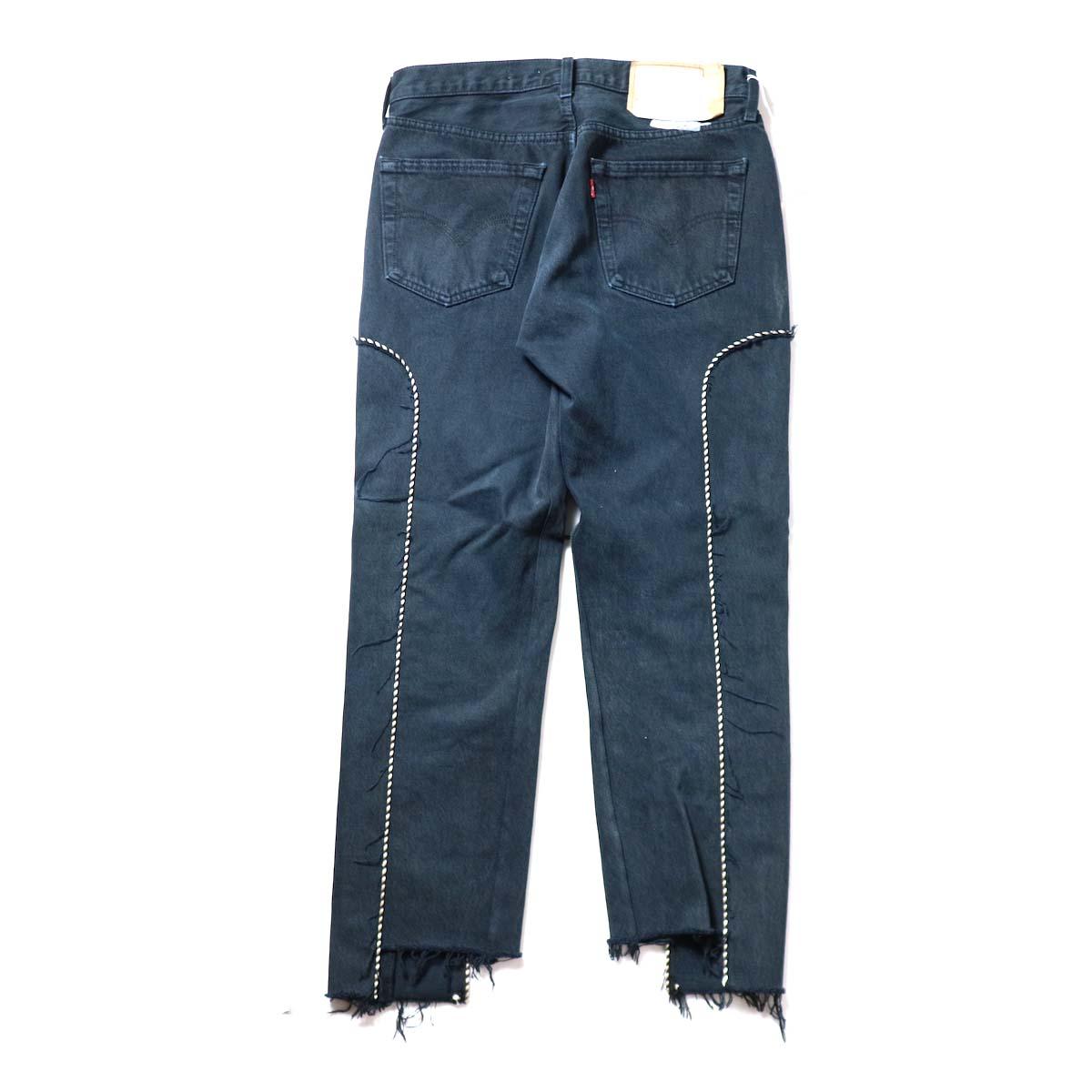 OLD PARK / Western Jeans Black (Msize-H)背面