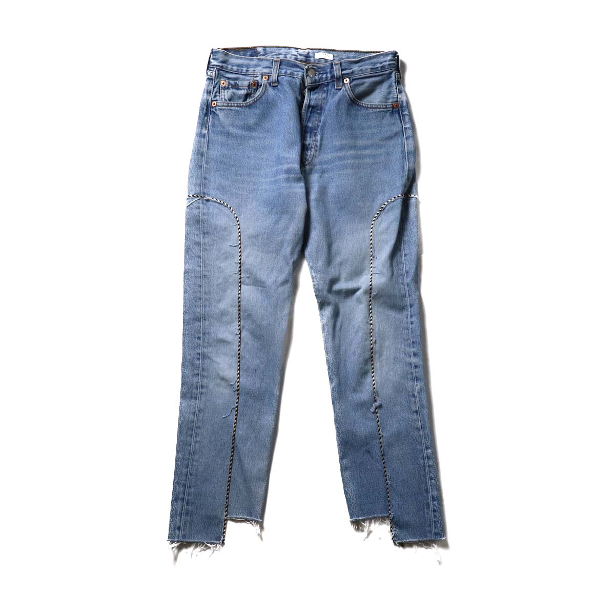 OLD PARK / Western Jeans Blue (Ssize-A)