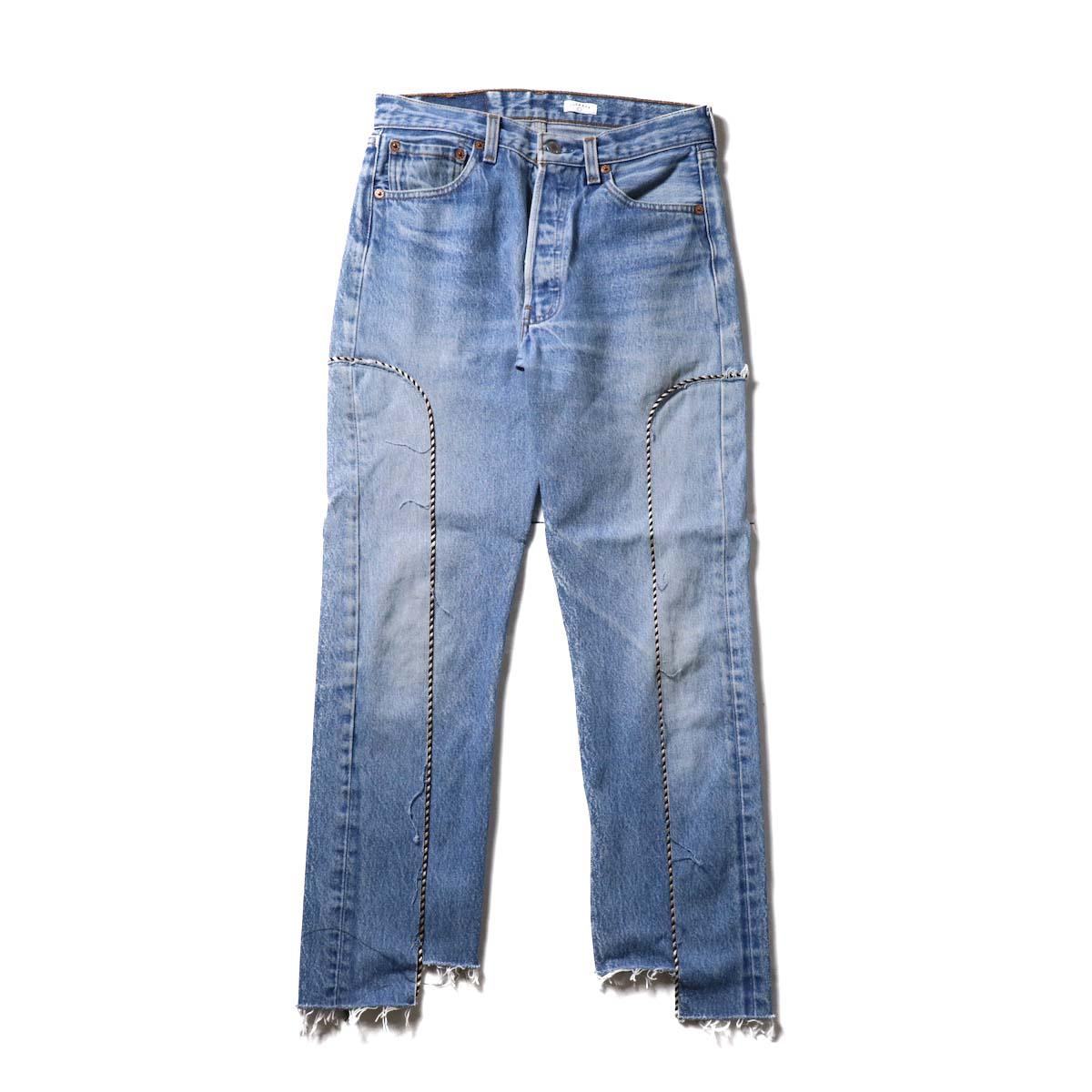 OLD PARK / Western Jeans Blue (Ssize-B)