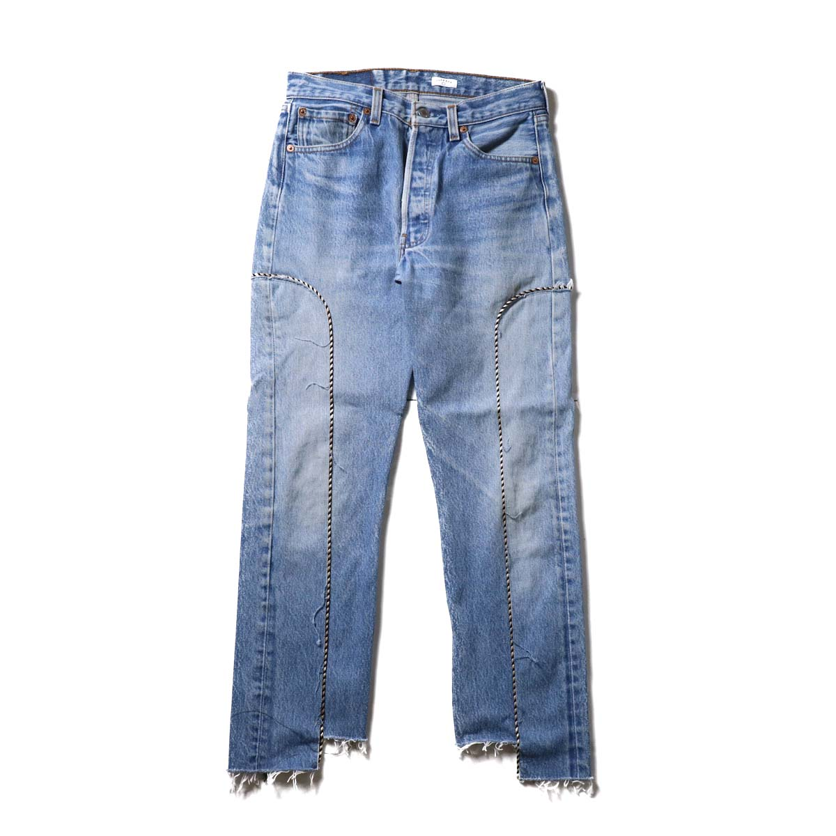 OLD PARK / Western Jeans Blue (Ssize-B)