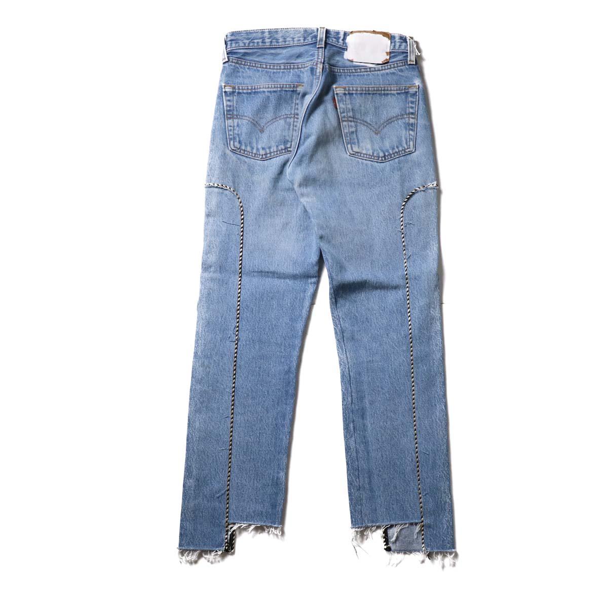 OLD PARK / Western Jeans Blue (Ssize-B)背面