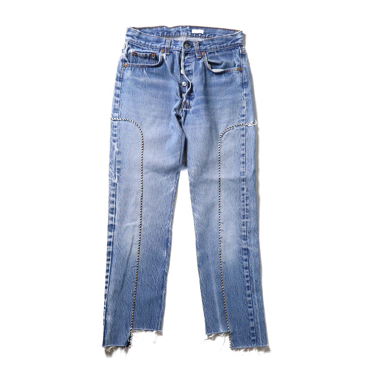 OLD PARK / Western Jeans Blue (Ssize-C)