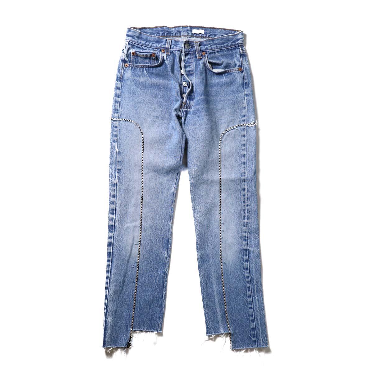 OLD PARK / Western Jeans Blue (Ssize-C)