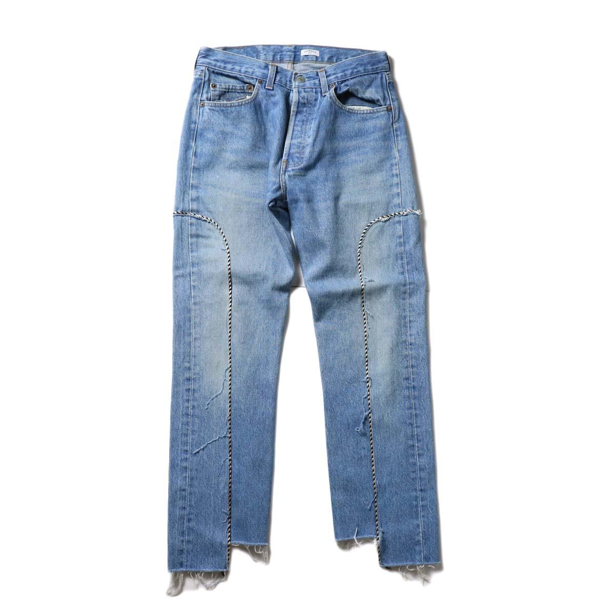 OLD PARK / Western Jeans Blue (Ssize-D)正面