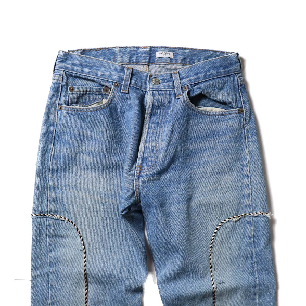 OLD PARK / Western Jeans Blue (Ssize-D)ウエスト