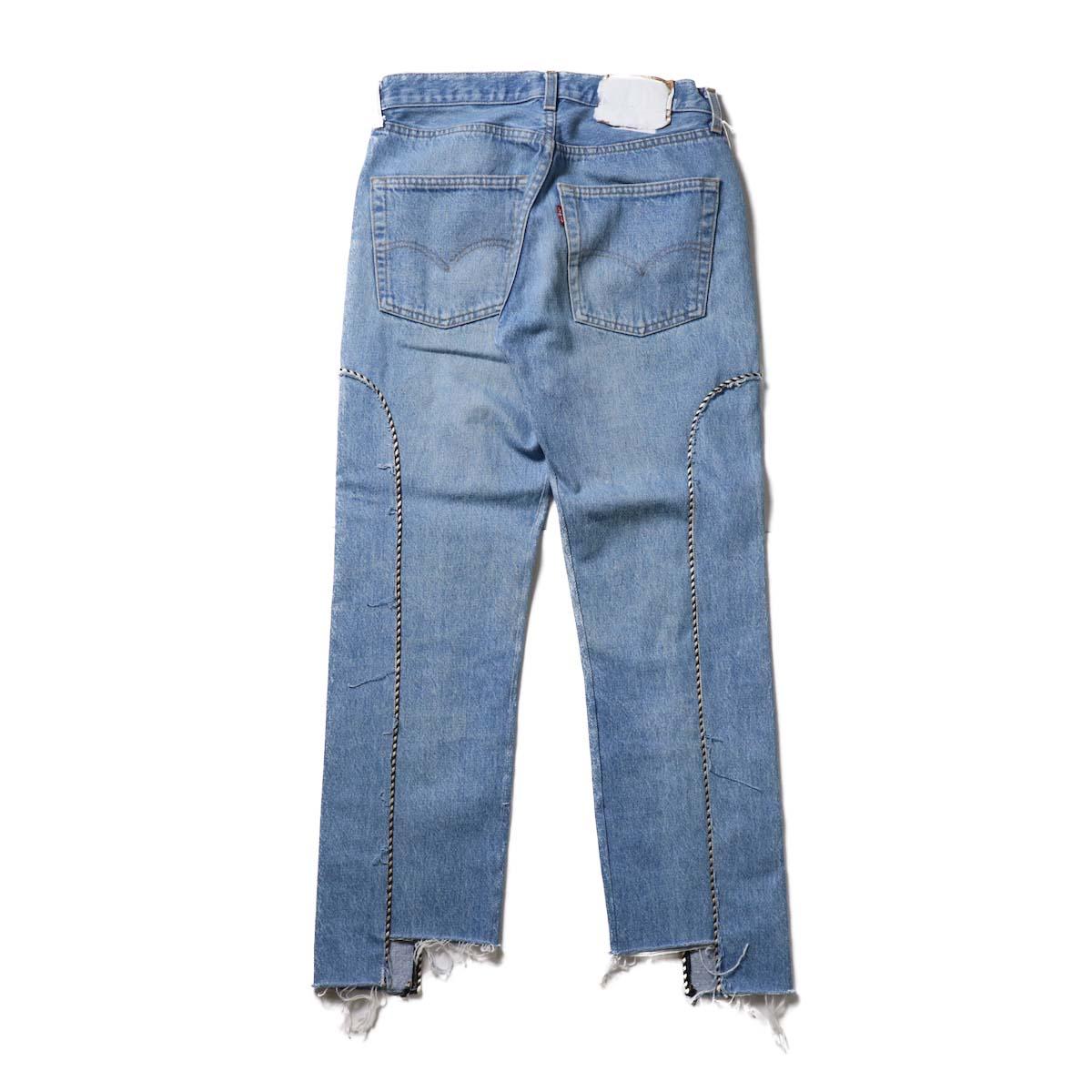 OLD PARK / Western Jeans Blue (Ssize-D)背面