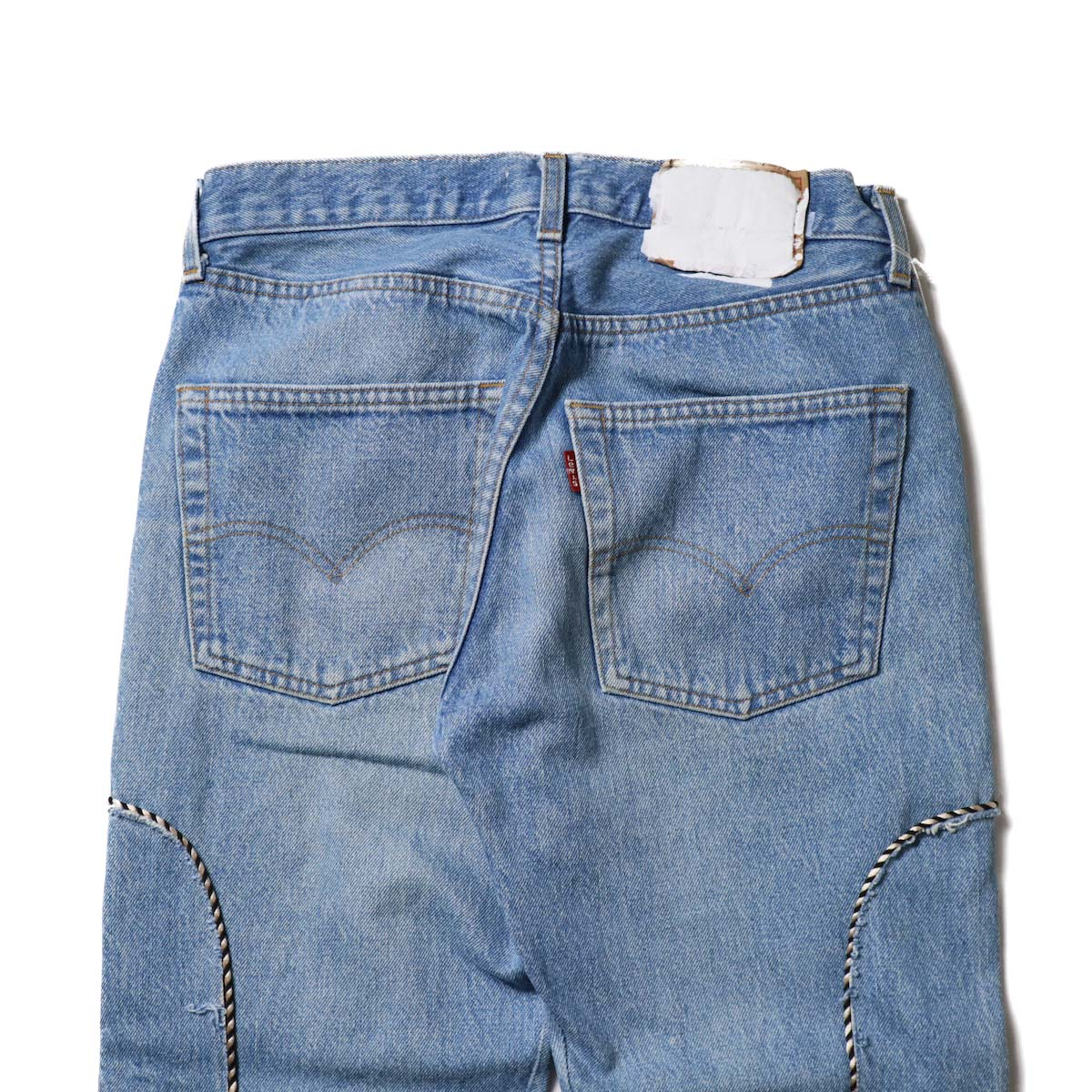 OLD PARK / Western Jeans Blue (Ssize-D)ヒップポケット