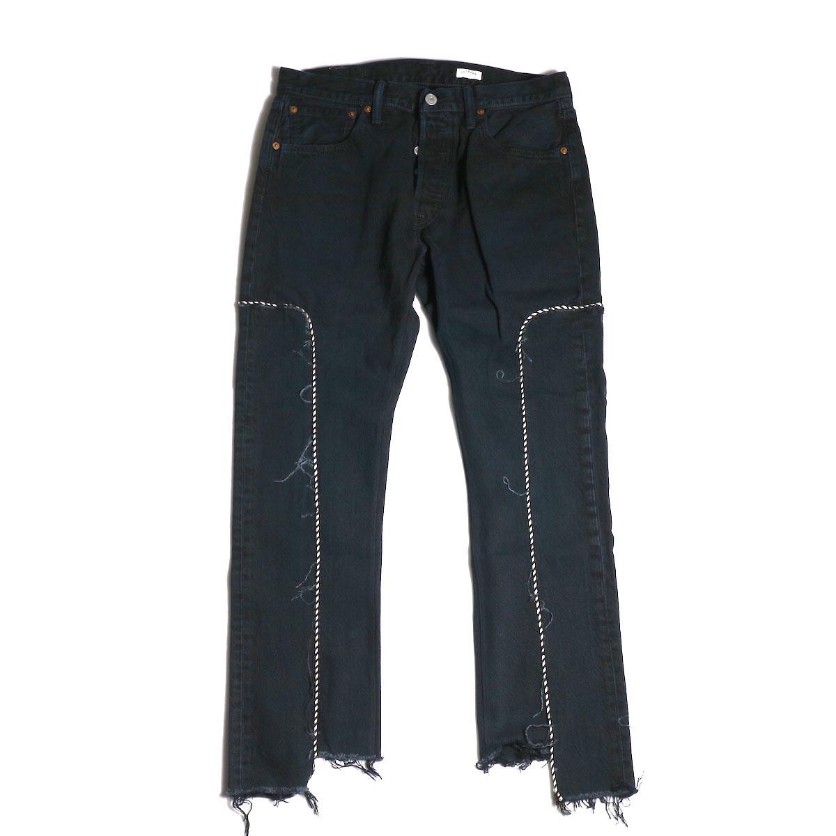 OLD PARK / Western Jeans (Black) (Msize-A)