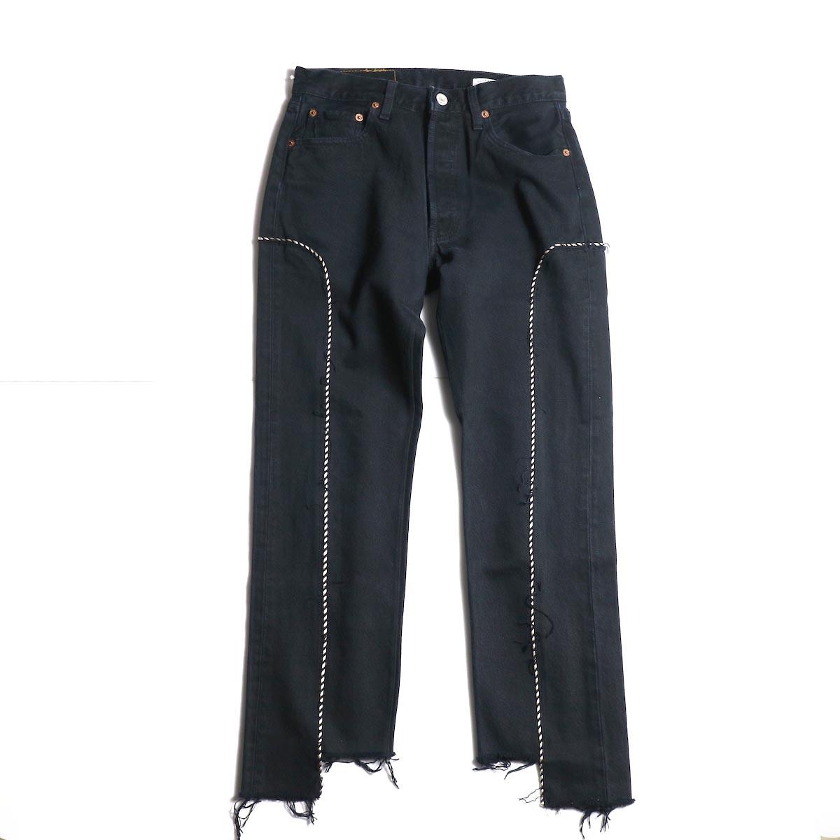OLD PARK / Western Jeans (Black) (Ssize-A)
