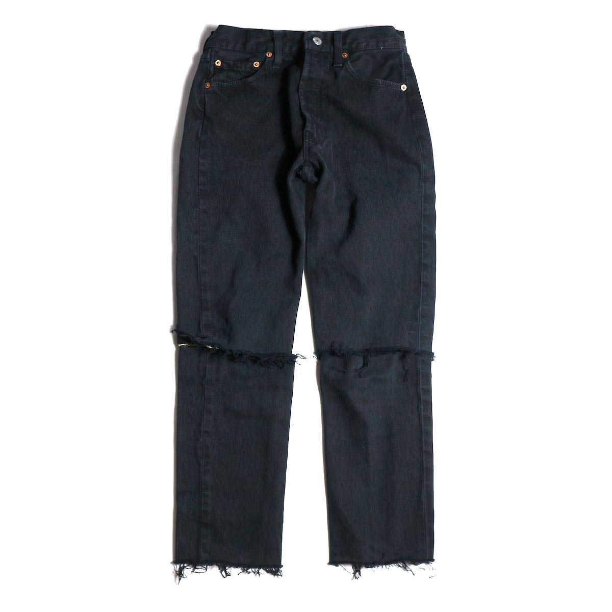OLD PARK / 2WAY JEANS (XS size)