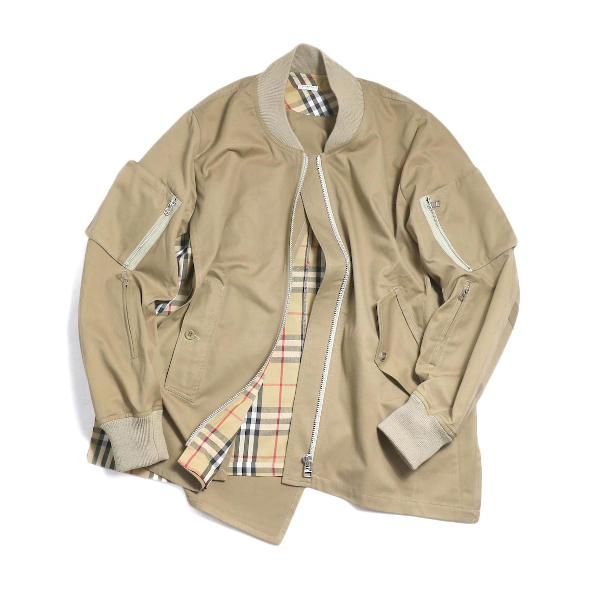 OLD PARK / F.L Flight Jacket (Burberry)
