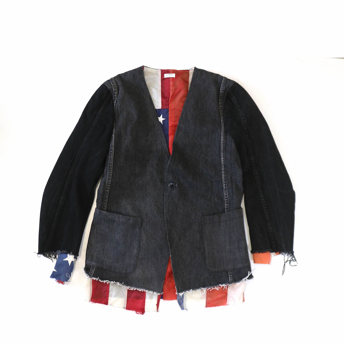 OLD PARK / INSIDE OUT N/C JACKET -Msize