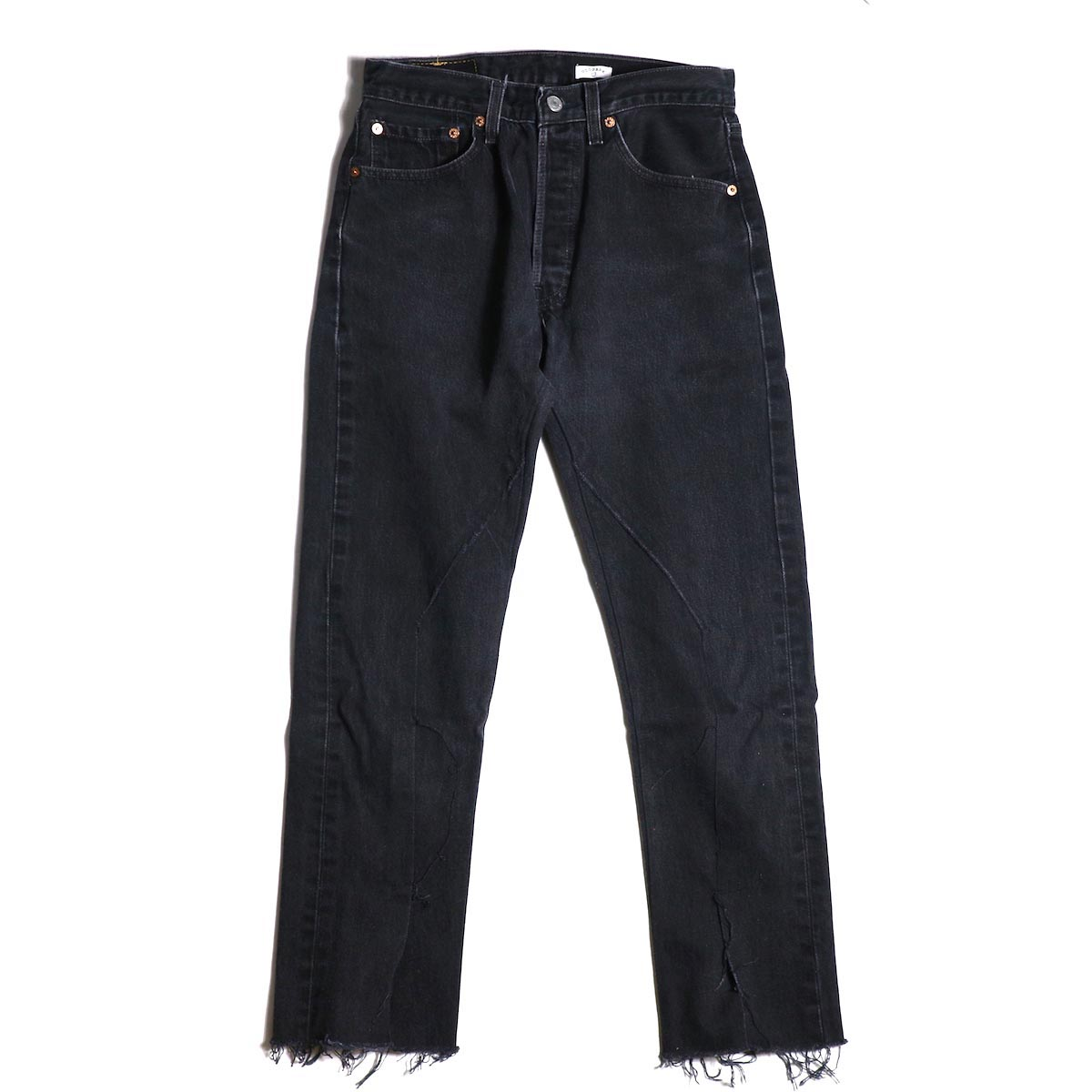 OLD PARK / SLIT JEANS (S size) -typeD