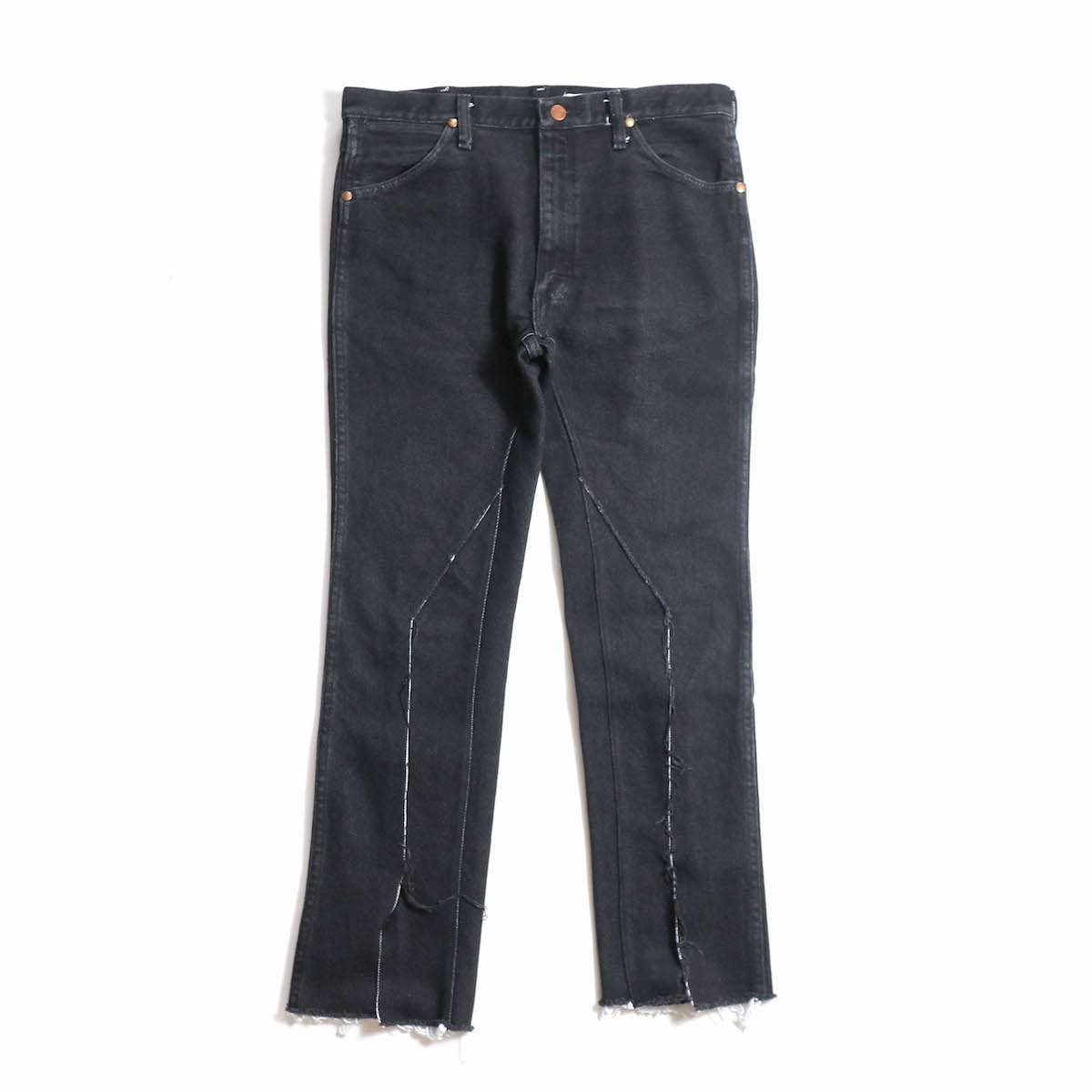OLD PARK / SLIT JEANS -Wrangler (Msize)(c)