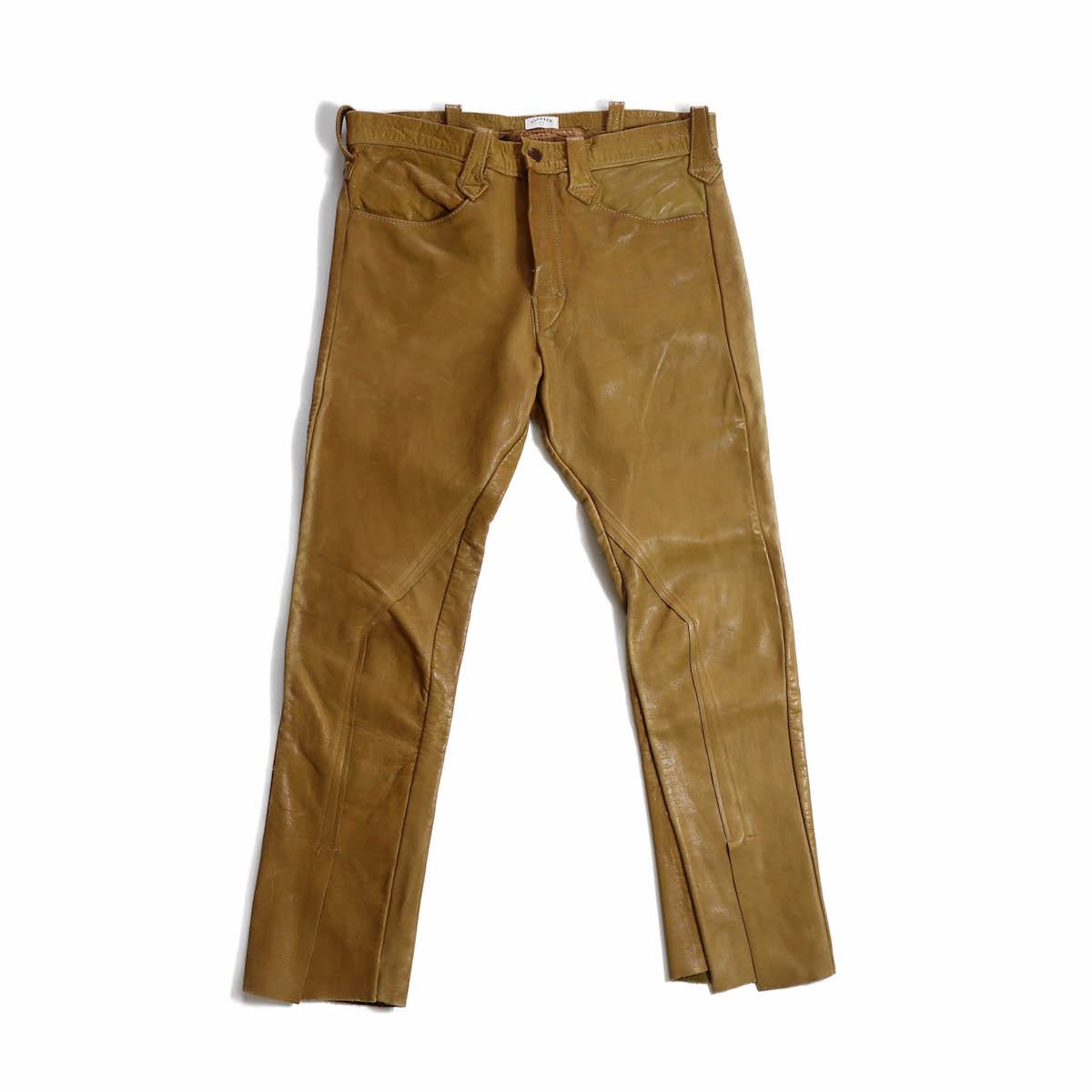 OLD PARK / SLIT PANTS -EAST WEST