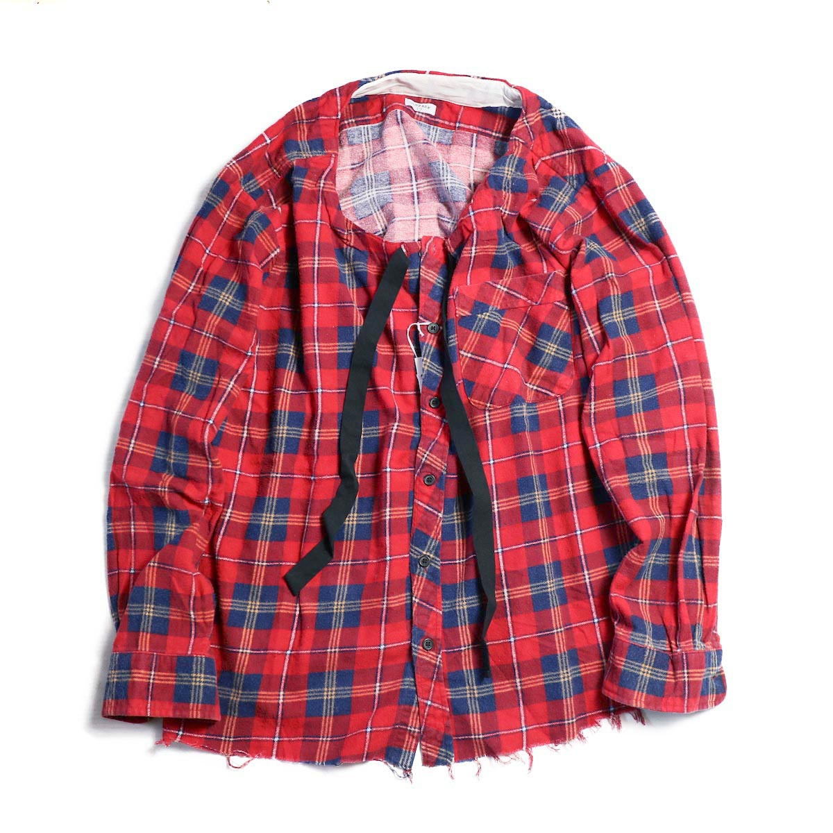 OLD PARK / SPINDLE SHIRT -FLANNEL (B)