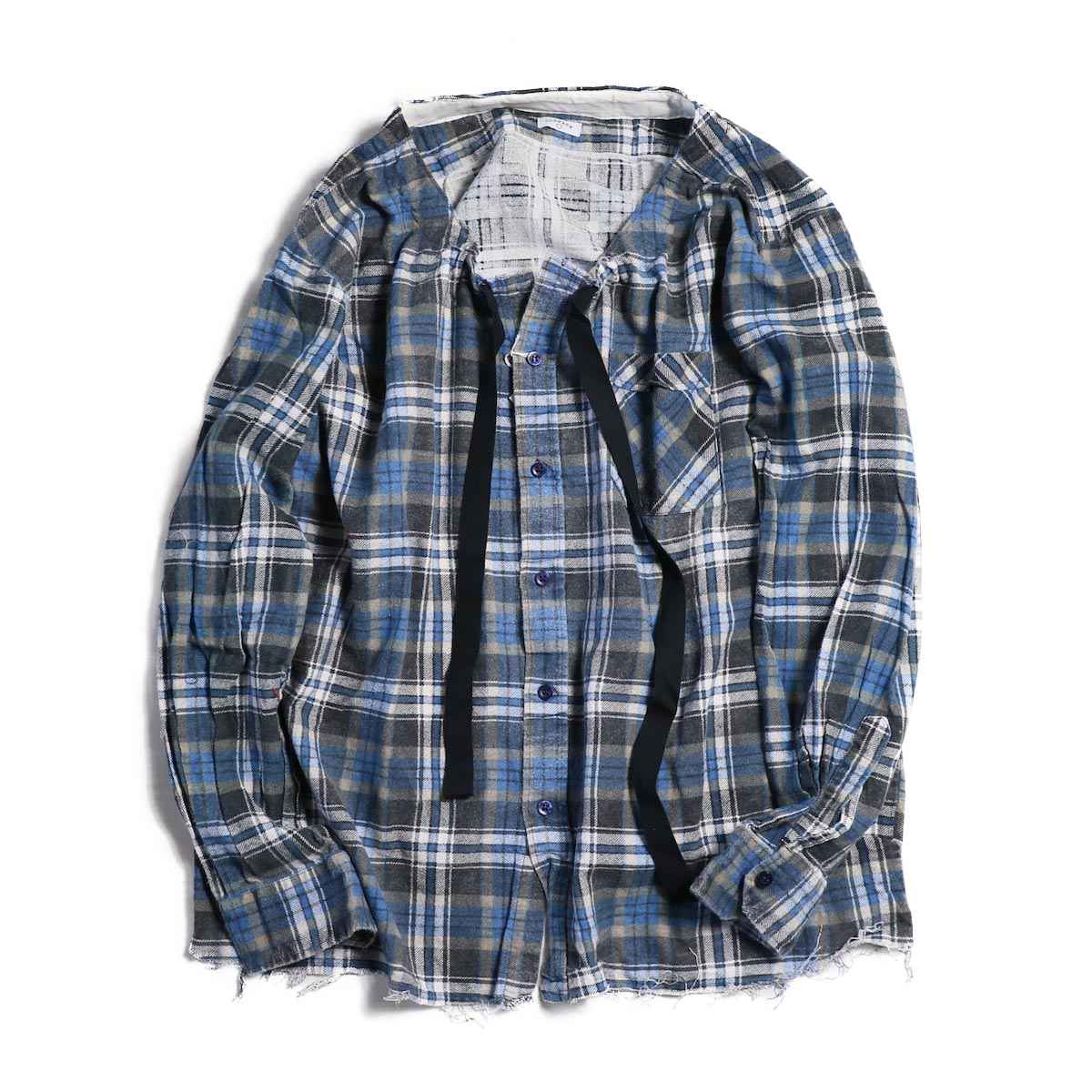 OLD PARK / SPINDLE SHIRT -FLANNEL (D)